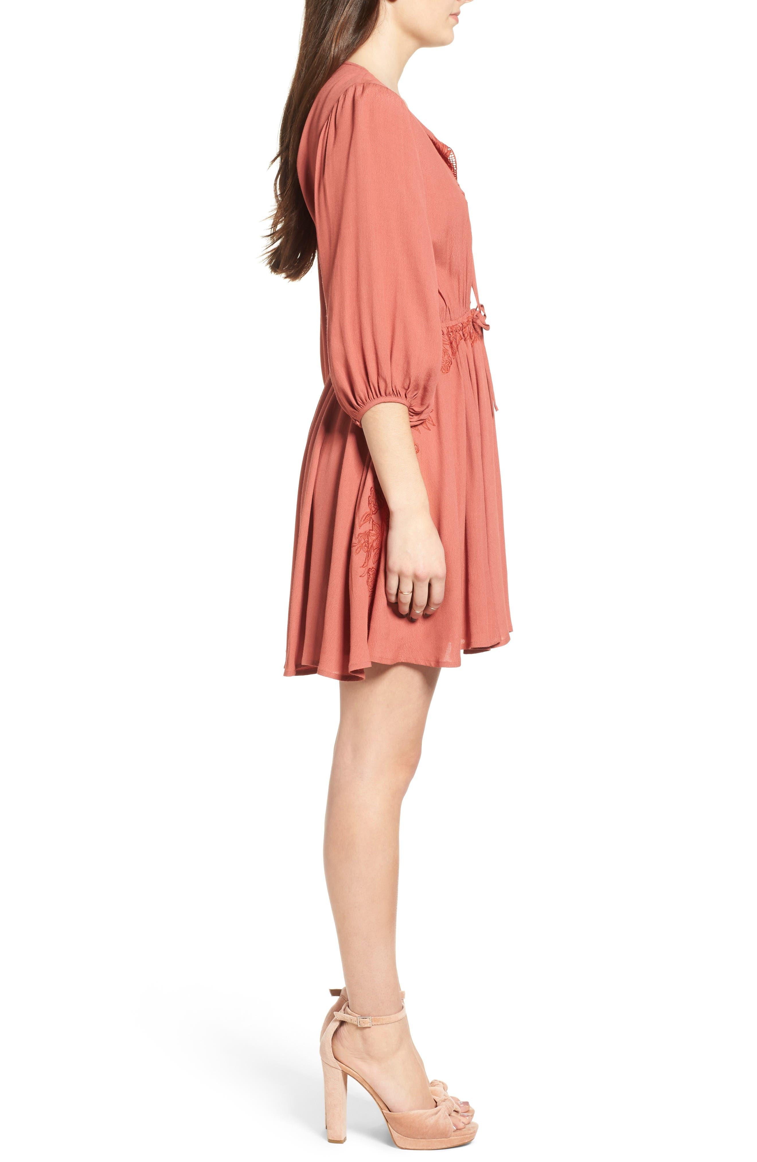 Alternate Image 4  - ASTR the Label Constance Dress