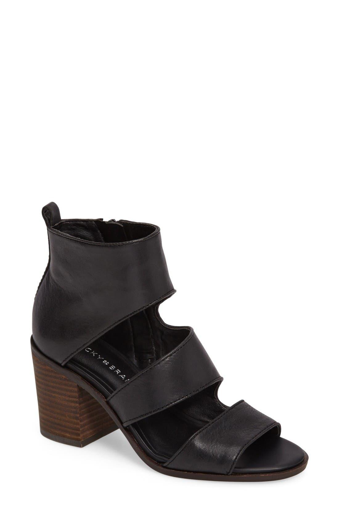 Alternate Image 1 Selected - Lucky Kabott Block Heel Sandal (Women)