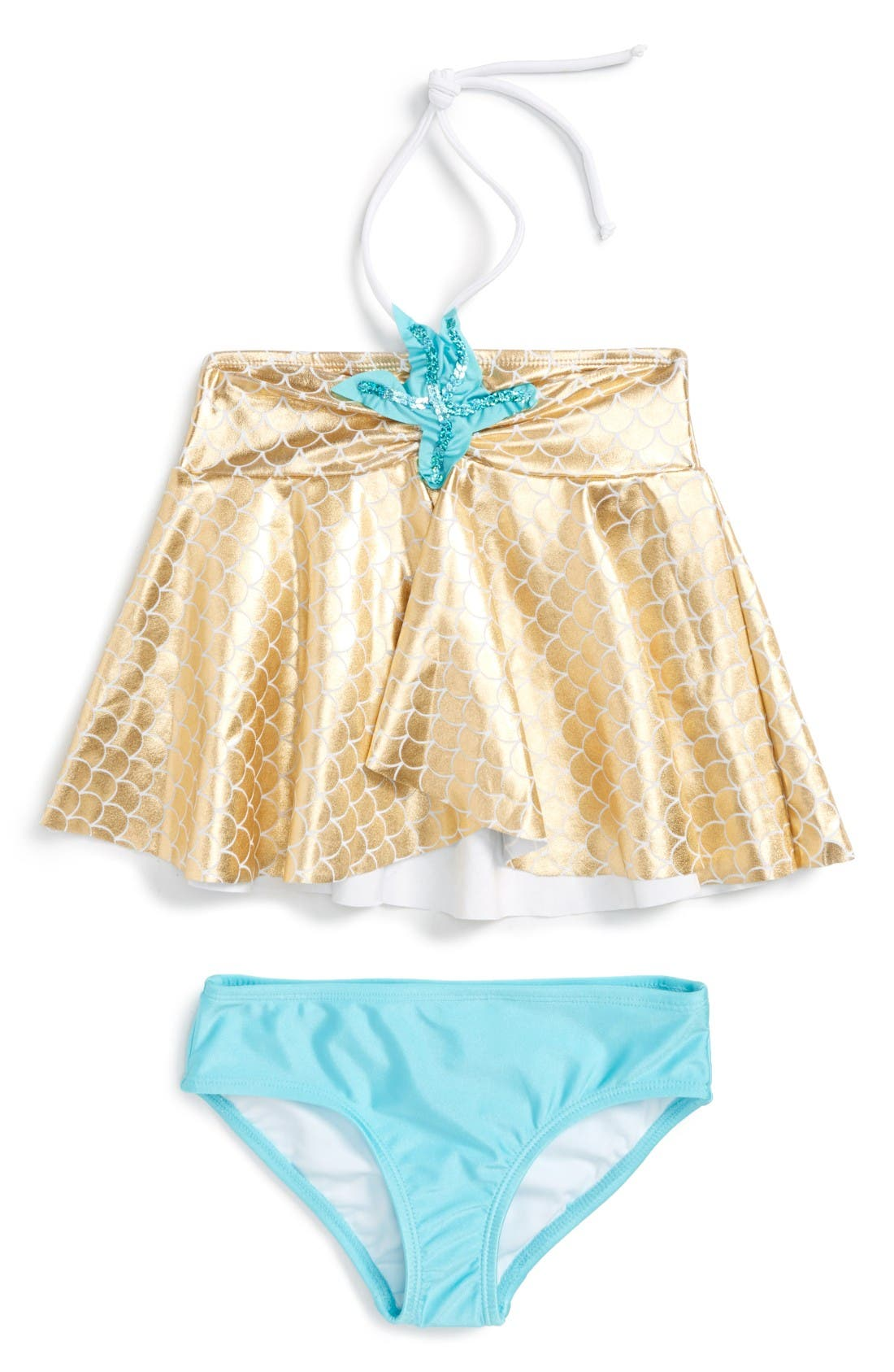 LOVE U LOTS Starfish Two-Piece Swimsuit