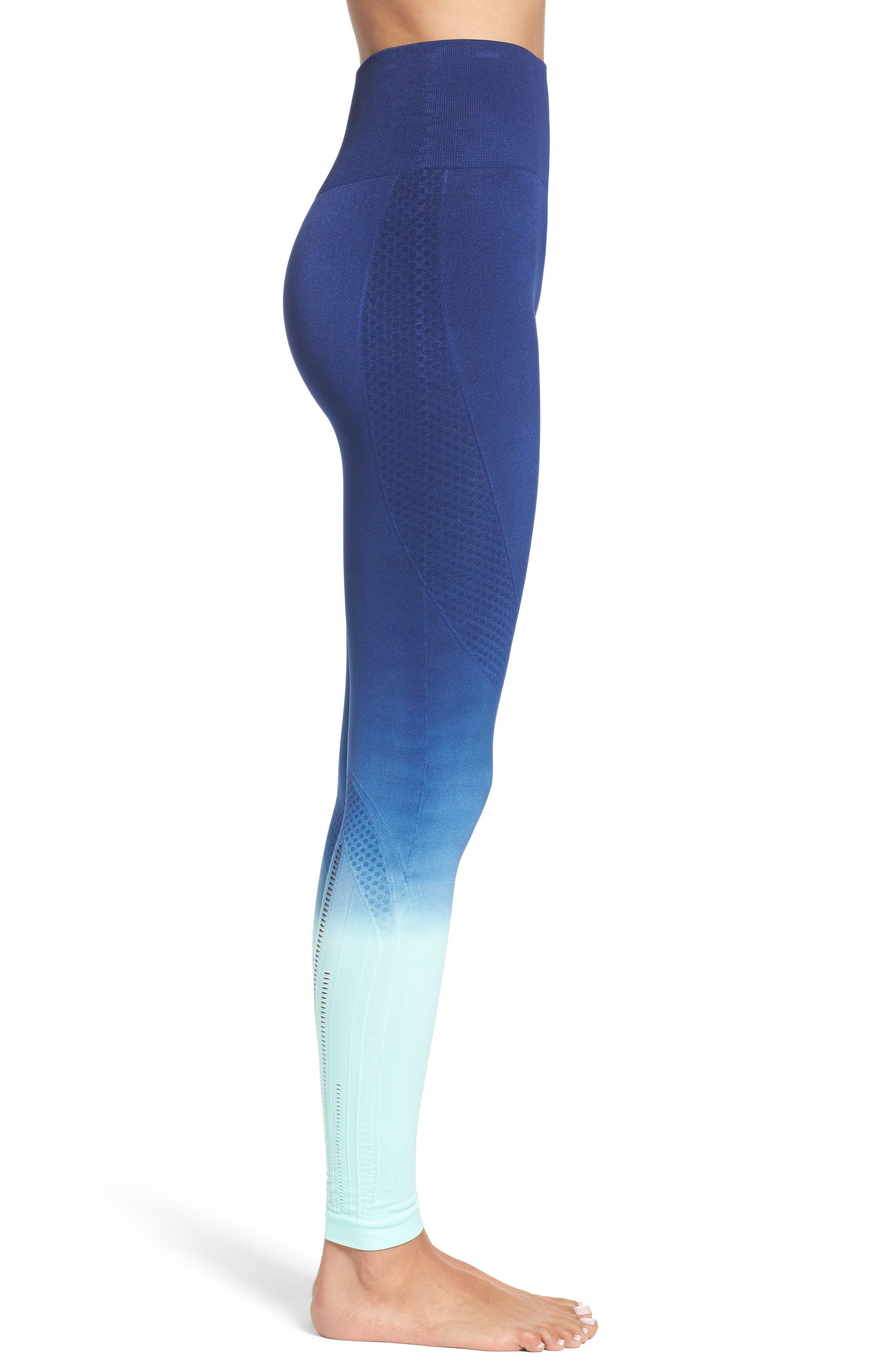 Alternate Image 3  - Climawear Set the Pace High Waist Leggings