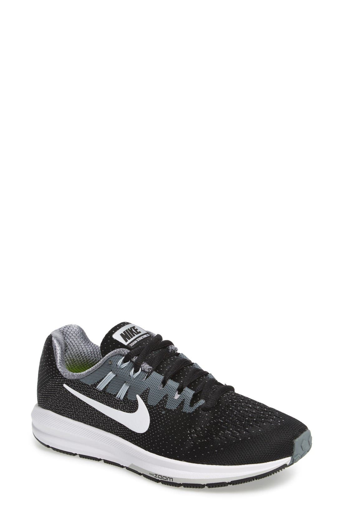 Main Image - Nike Air Zoom Structure 20 Running Shoe (Women)