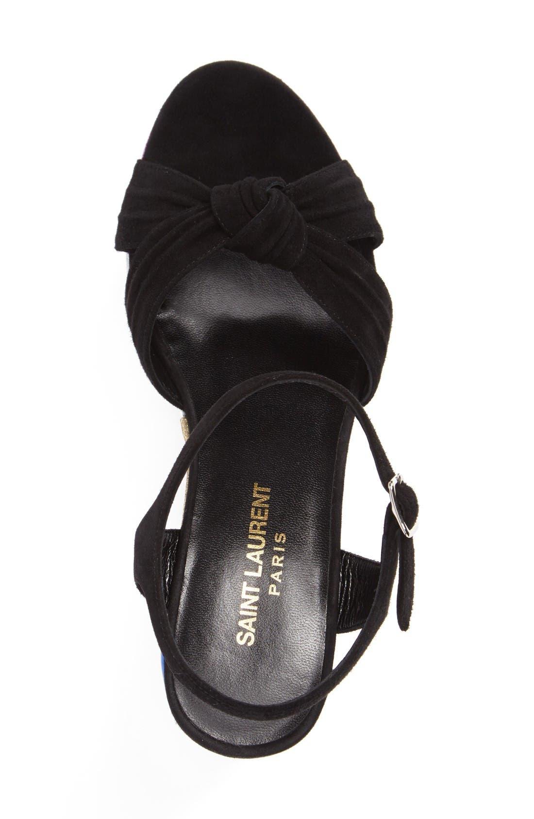 Alternate Image 3  - Saint Laurent Candy Platform Sandal (Women)