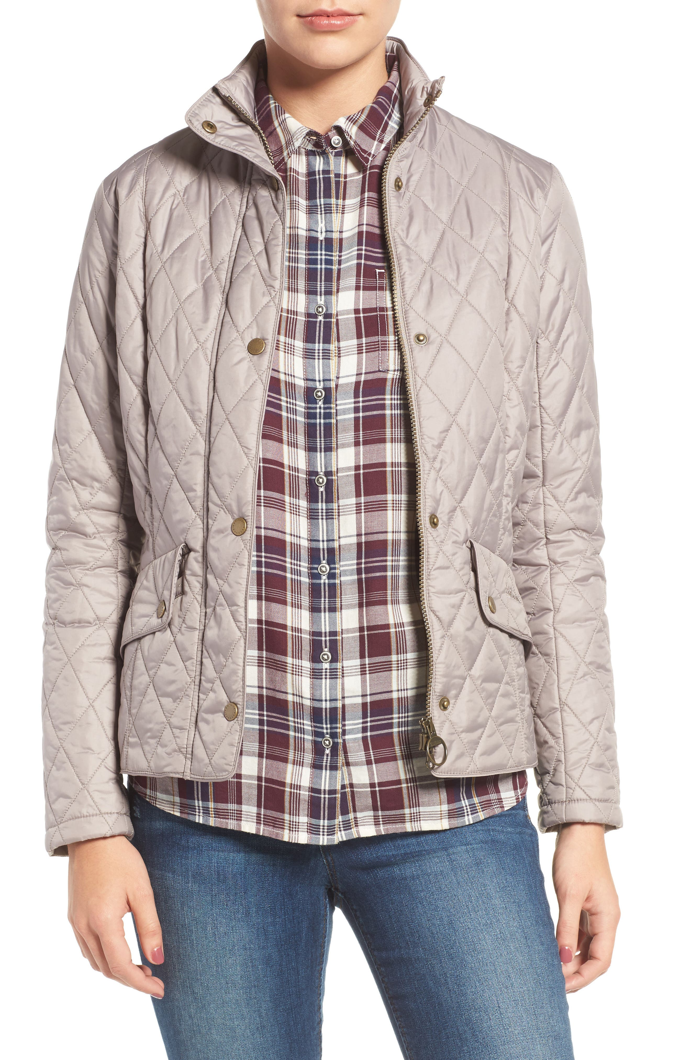 Main Image - Barbour Cavalry Flyweight Quilt Jacket