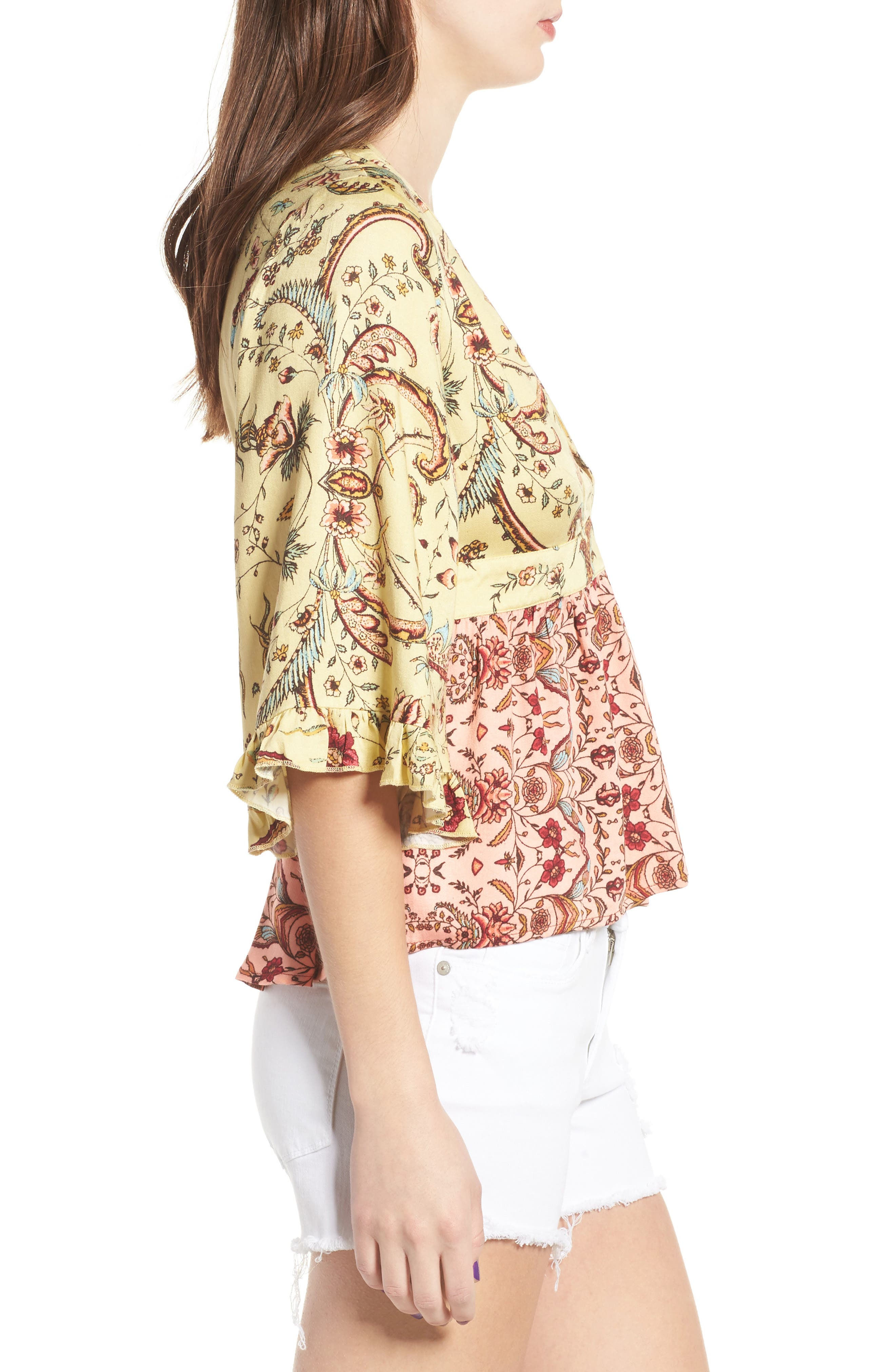 Alternate Image 3  - Somedays Lovin Sounds of Heart Kimono Top