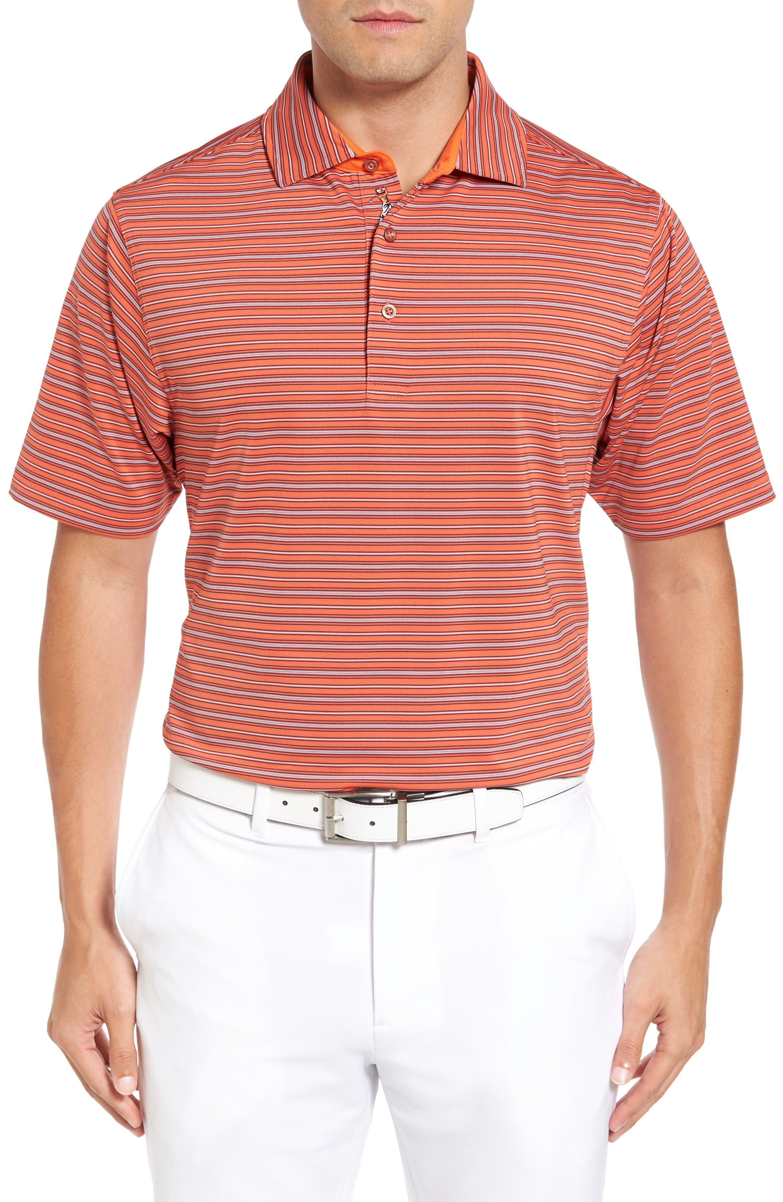 Bobby Jones XH20 Cero Stripe Stretch Golf Polo