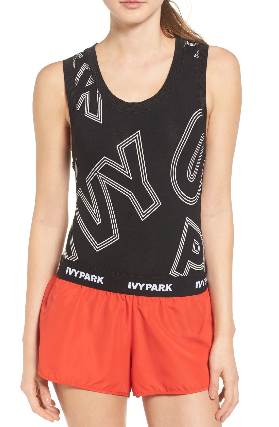 Alternate Image 1 Selected - IVY PARK® Broken Logo Bodysuit