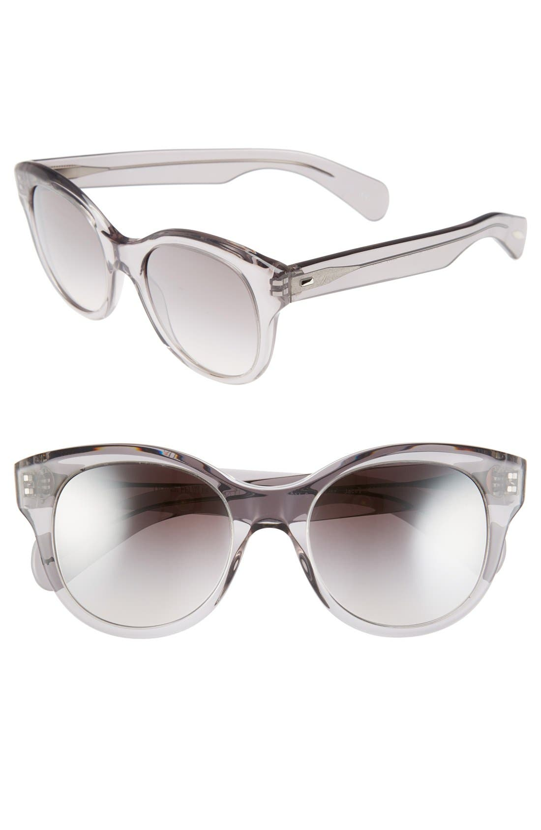 Alternate Image 1 Selected - Oliver Peoples 'Jacey' 53mm Sunglasses