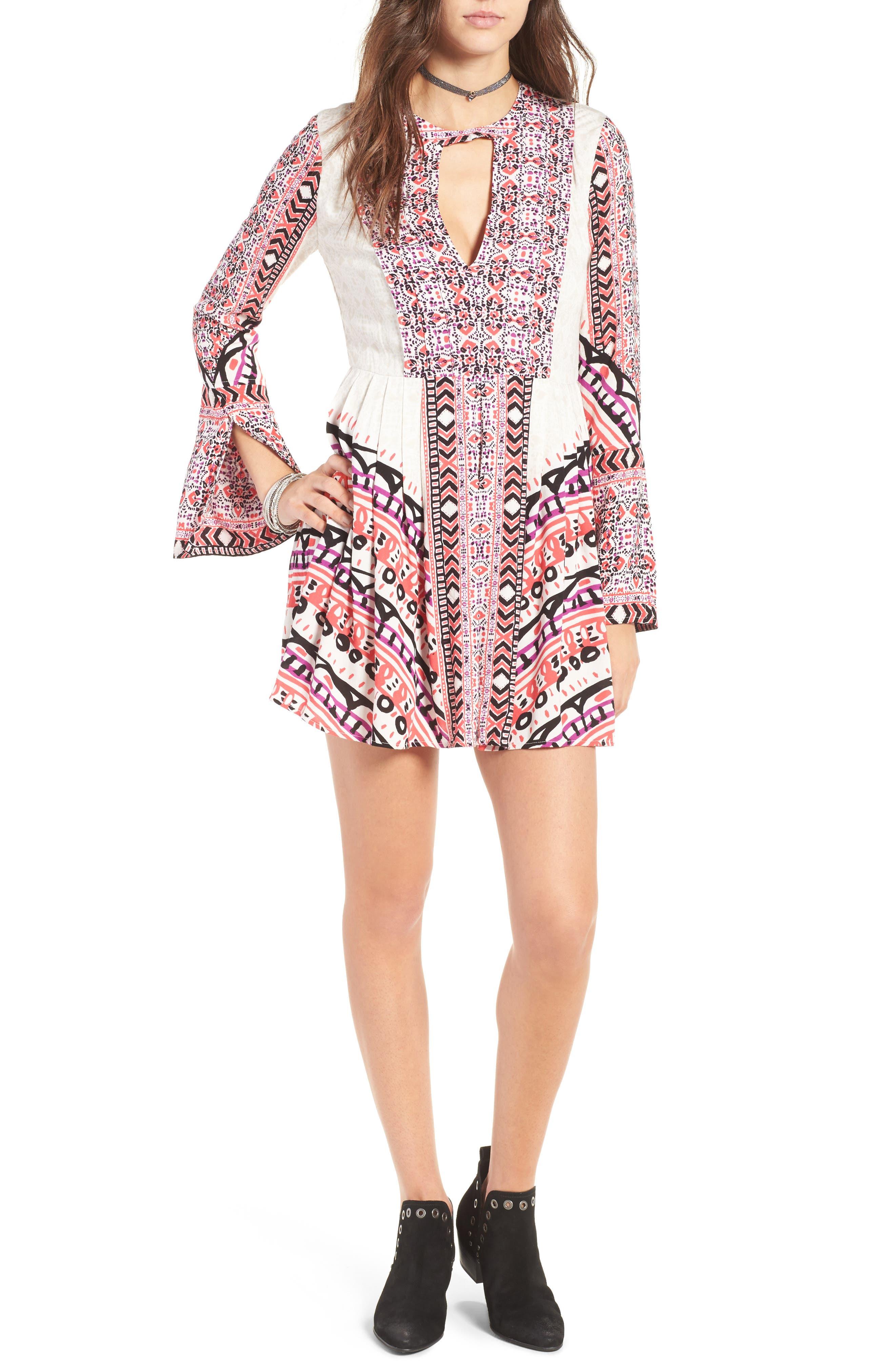 Alternate Image 1 Selected - Free People Tegan Minidress