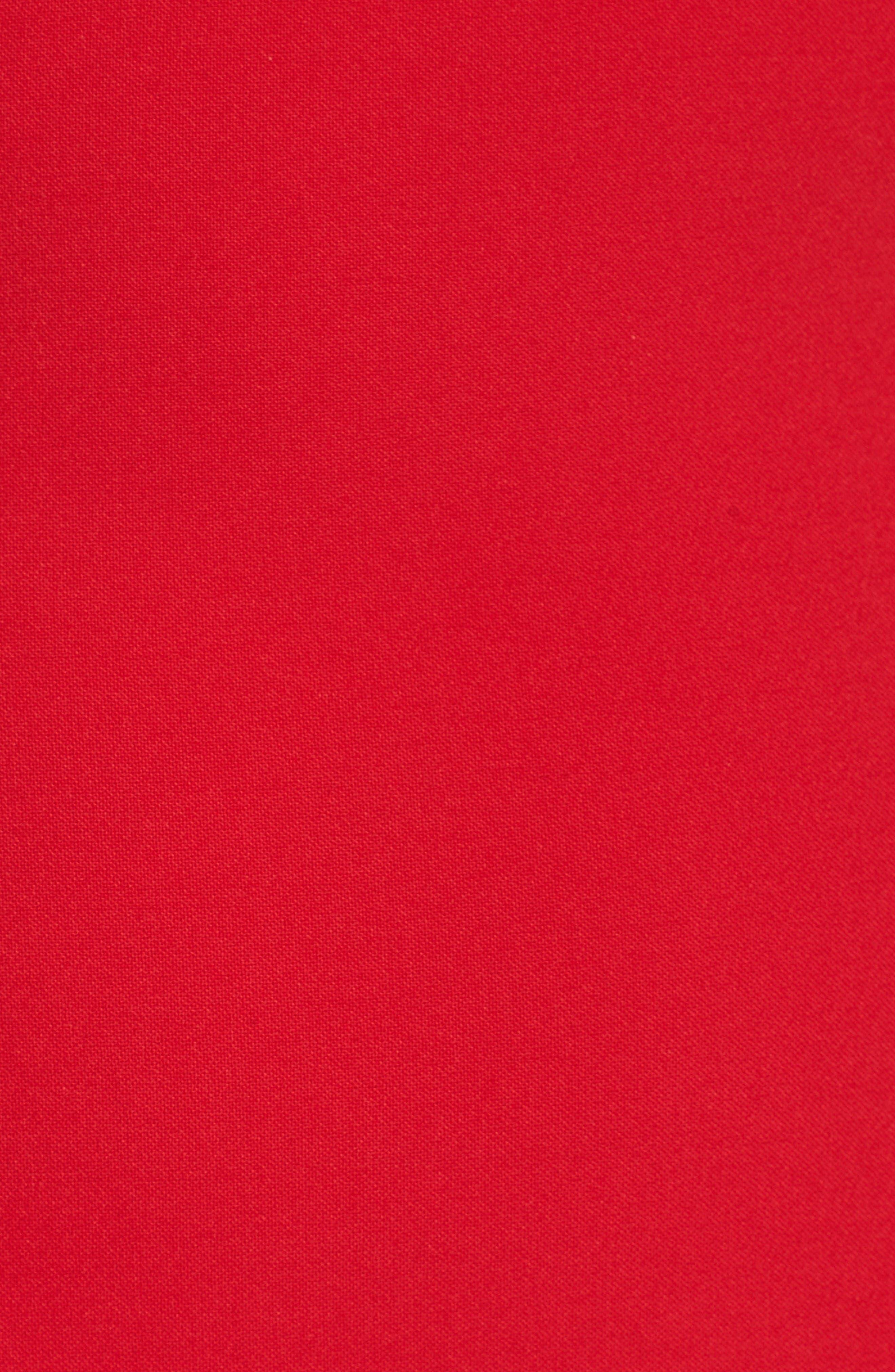 Alternate Image 6  - Badgley Mischka Ruffle Stretch Gown