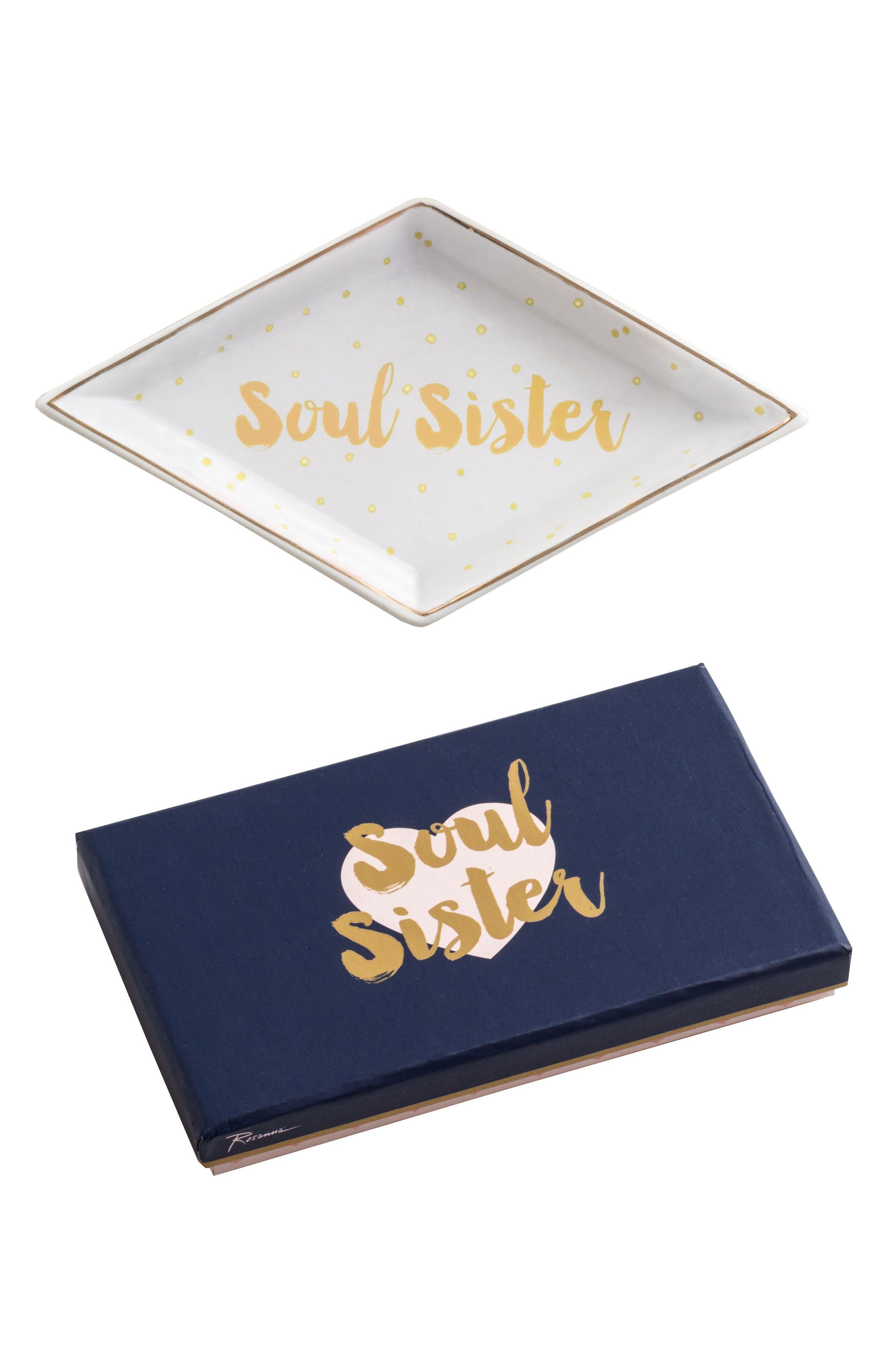 Rosanna Soul Sister Porcelain Trinket Tray