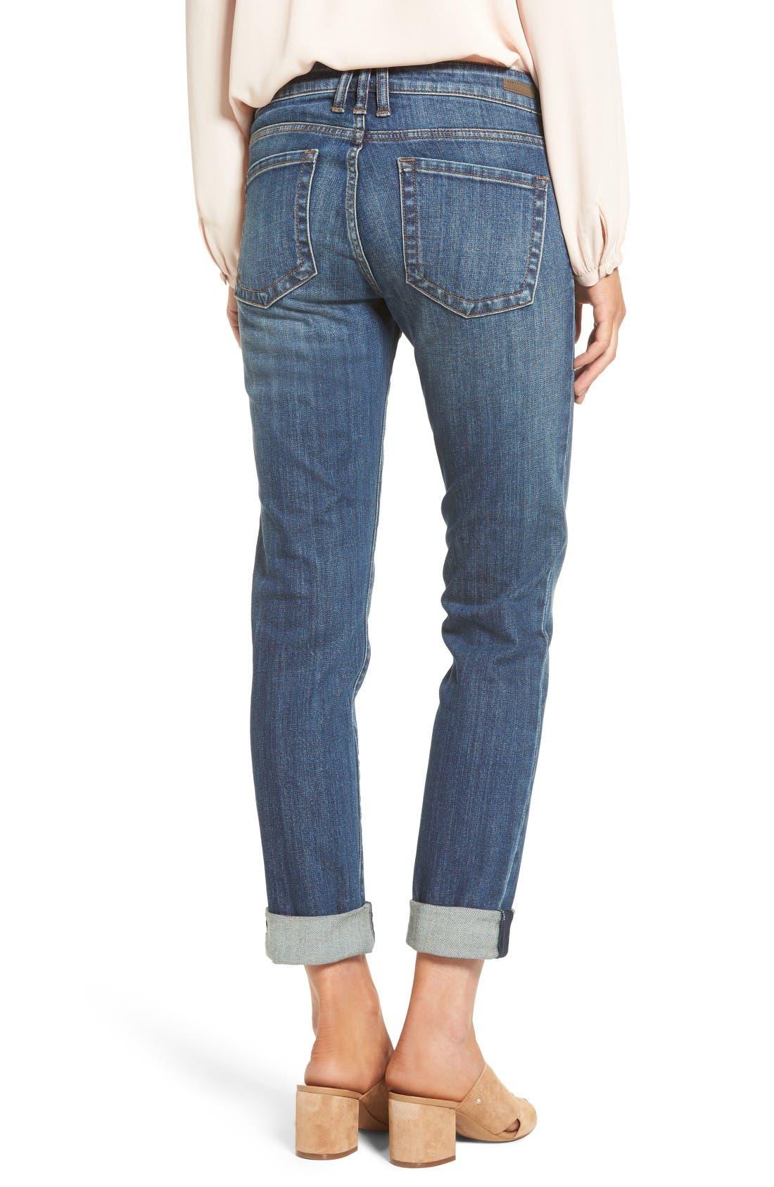 Alternate Image 2  - KUT from the Kloth Catherine Boyfriend Jeans (Doubtless)