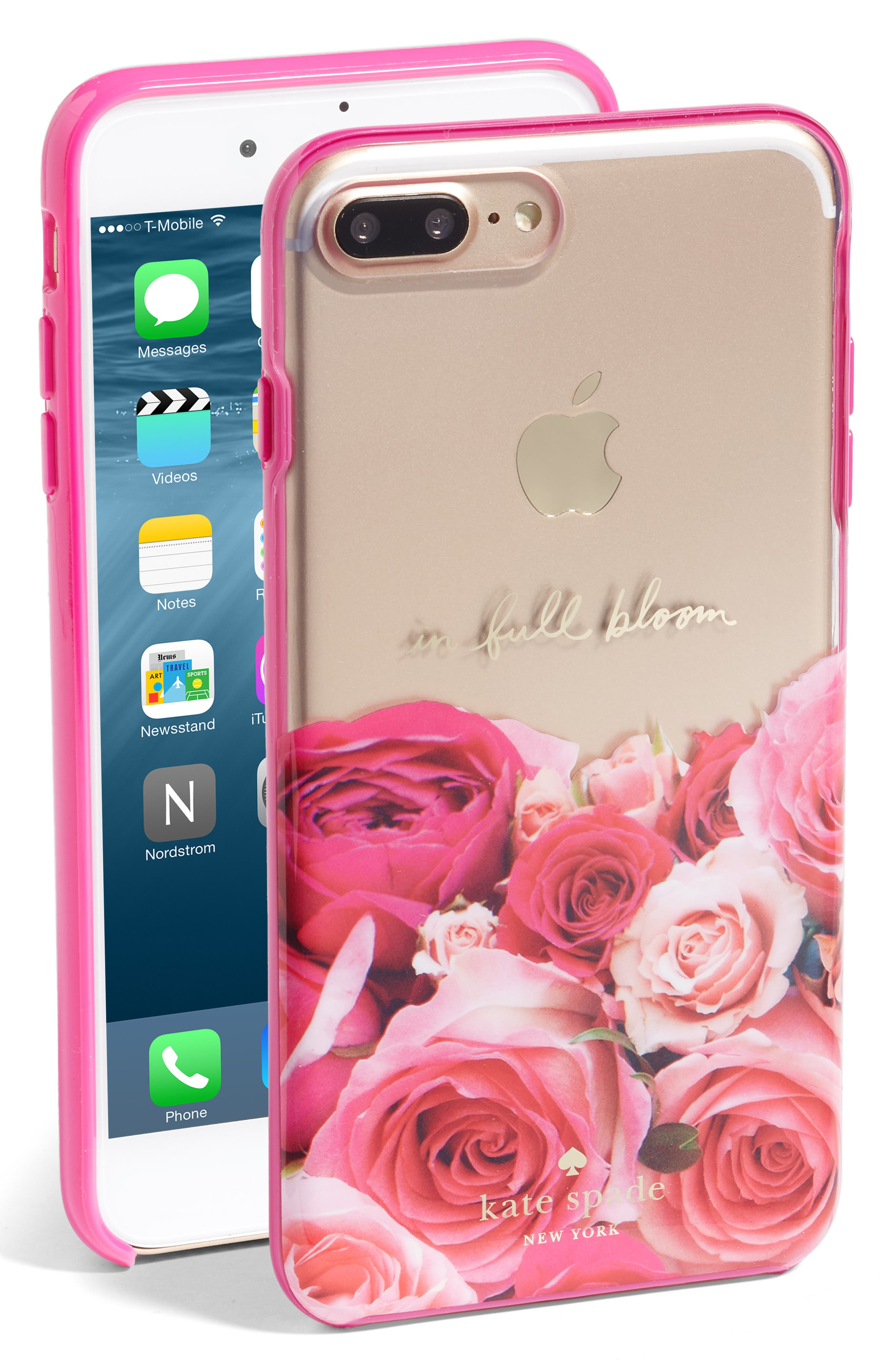 Alternate Image 1 Selected - kate spade new york in full bloom iPhone 7 Plus case