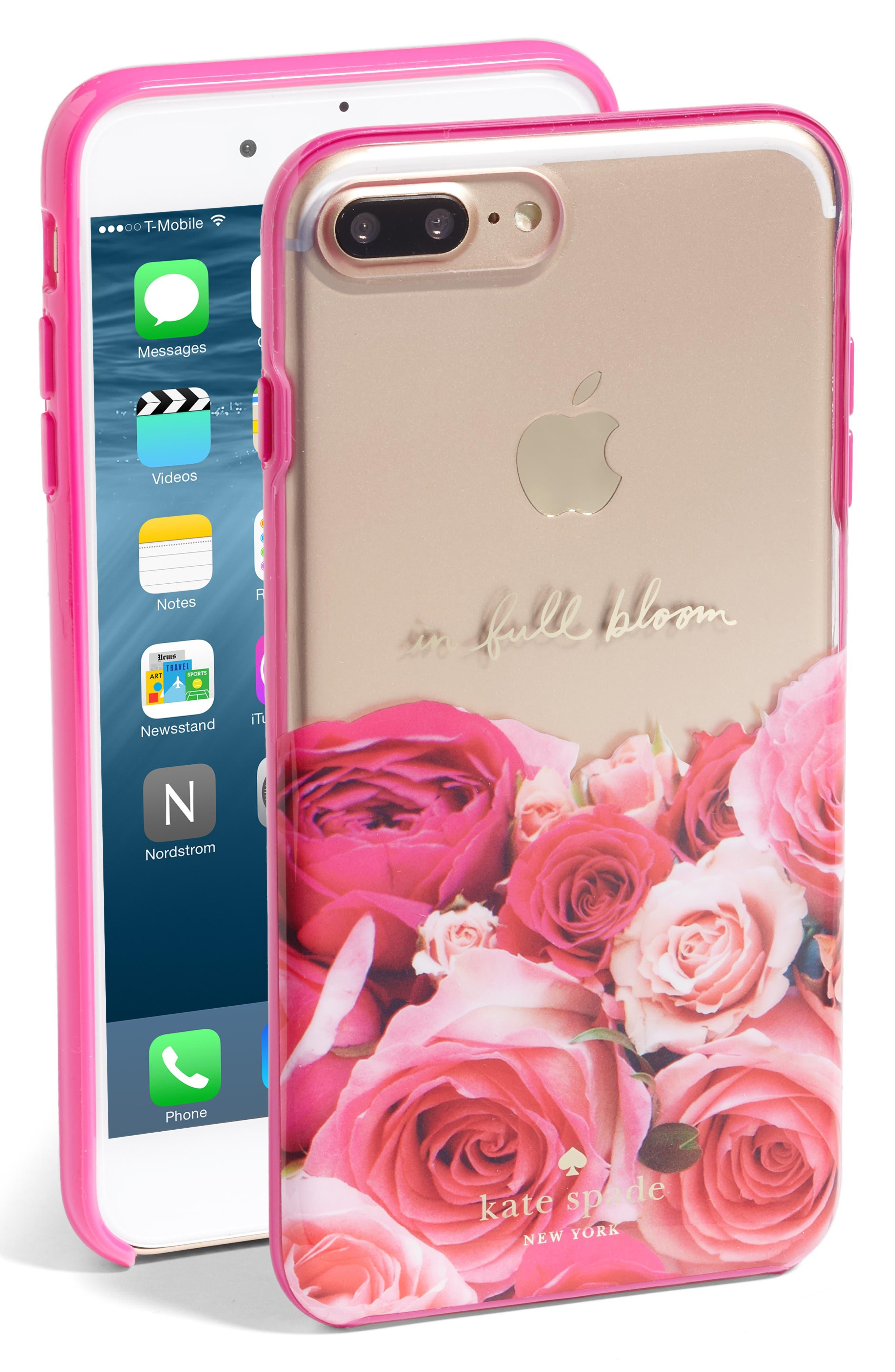Main Image - kate spade new york in full bloom iPhone 7 Plus case