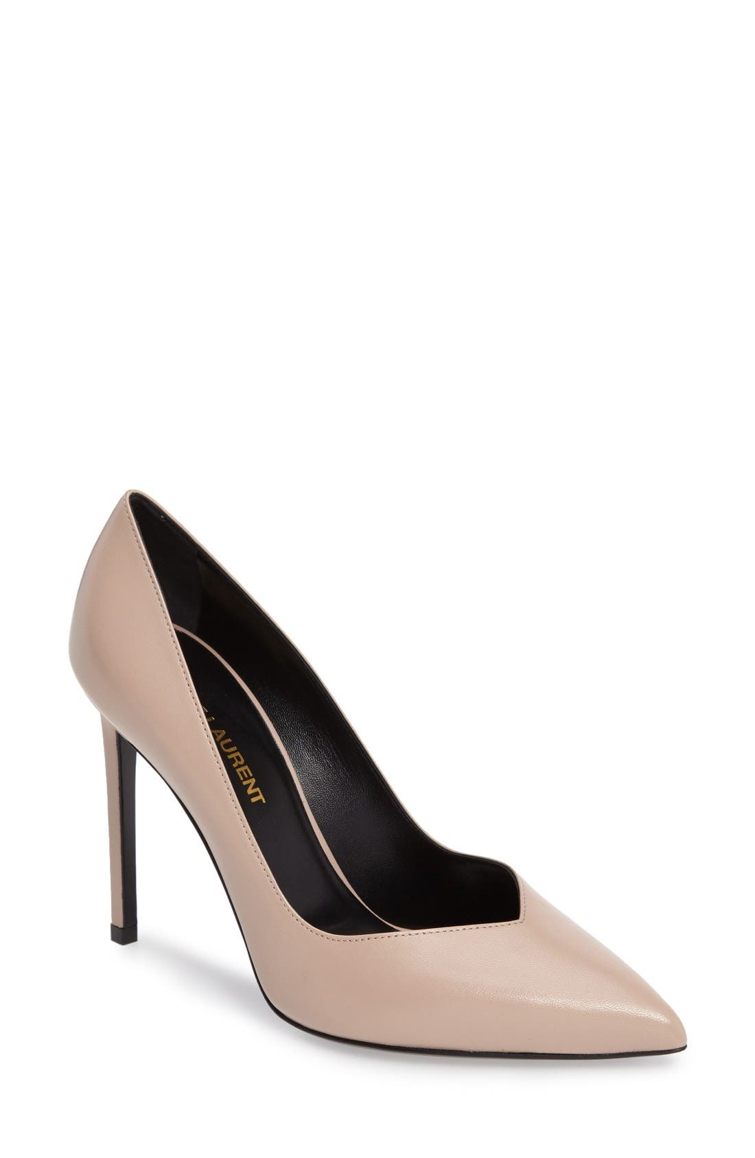 Alternate Image 1 Selected - Saint Laurent Pointy Toe Pump (Women)