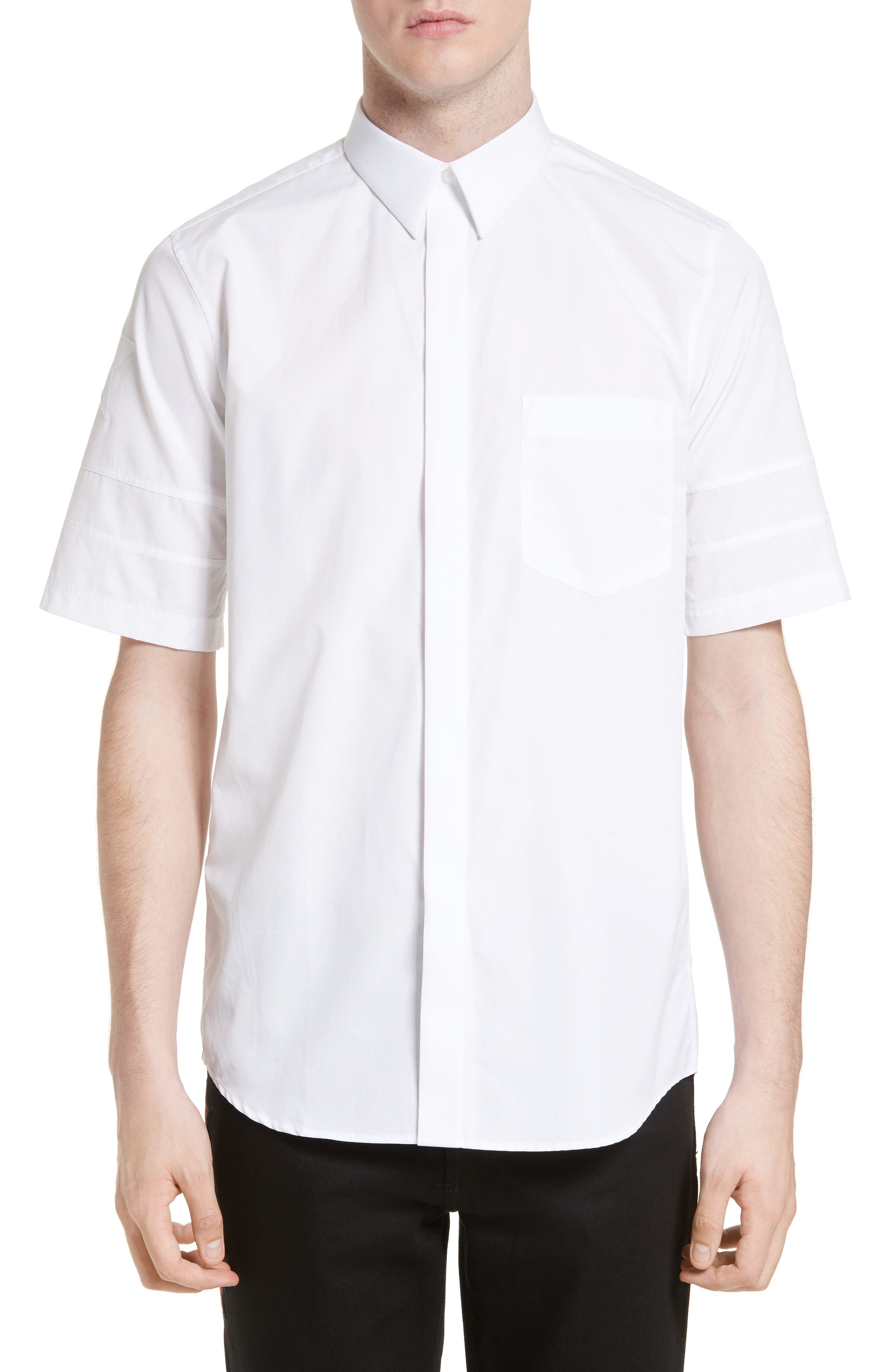 GIVENCHY Pieced Star Extra Trim Fit Sport Shirt