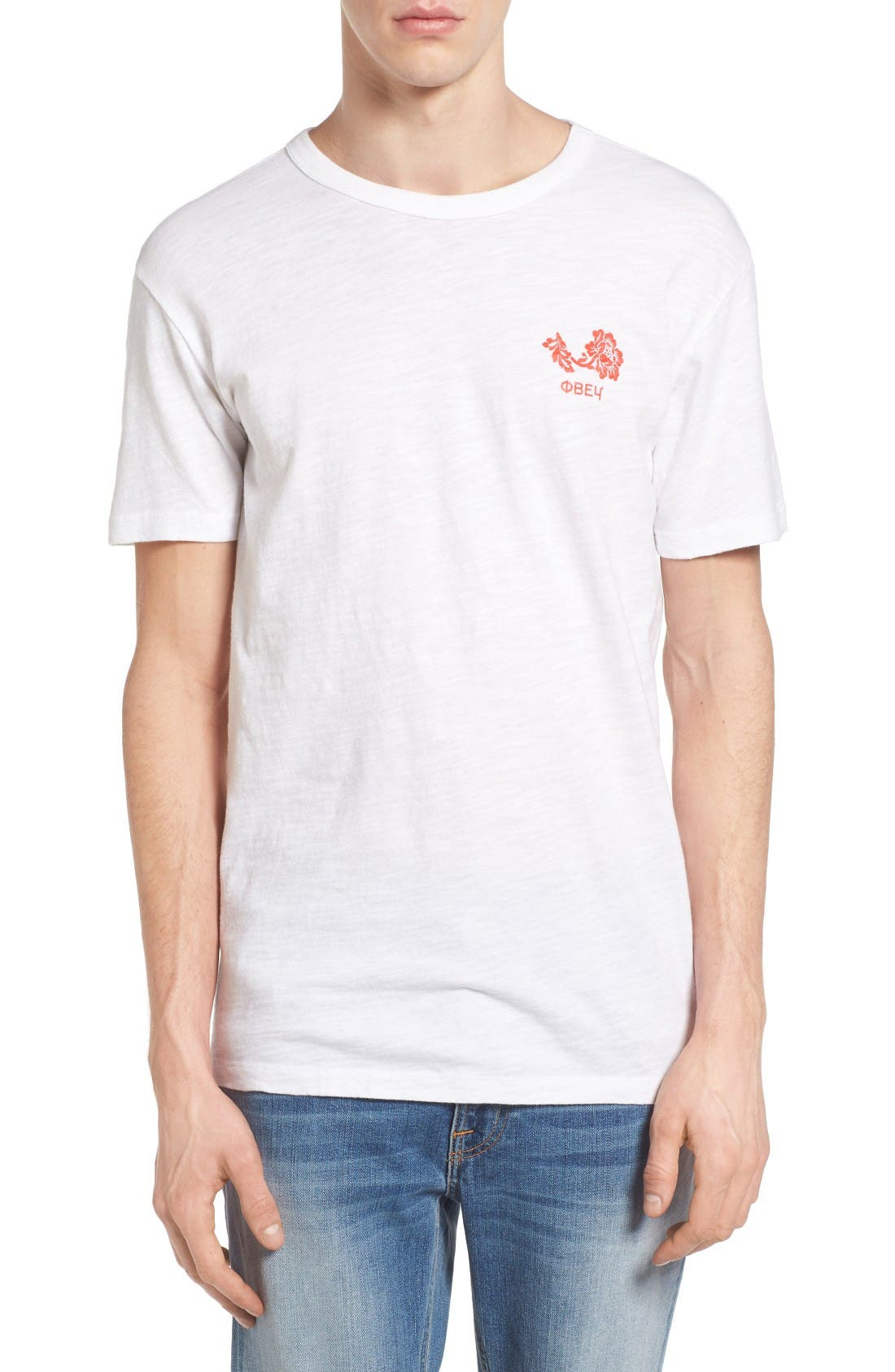 OBEY Flower Graphic T-Shirt