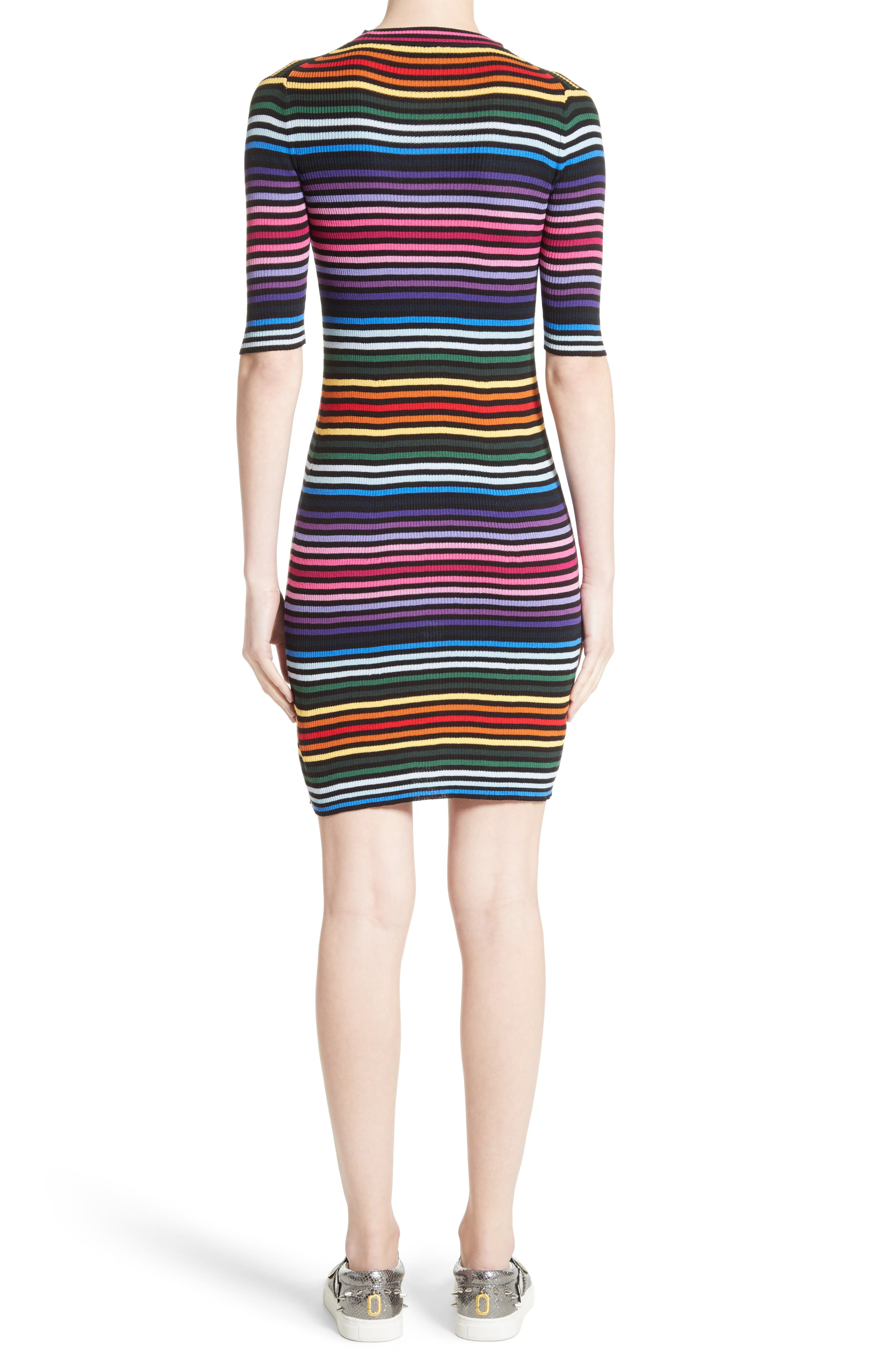 Alternate Image 2  - MARC JACOBS Stripe Cotton T-shirt Dress