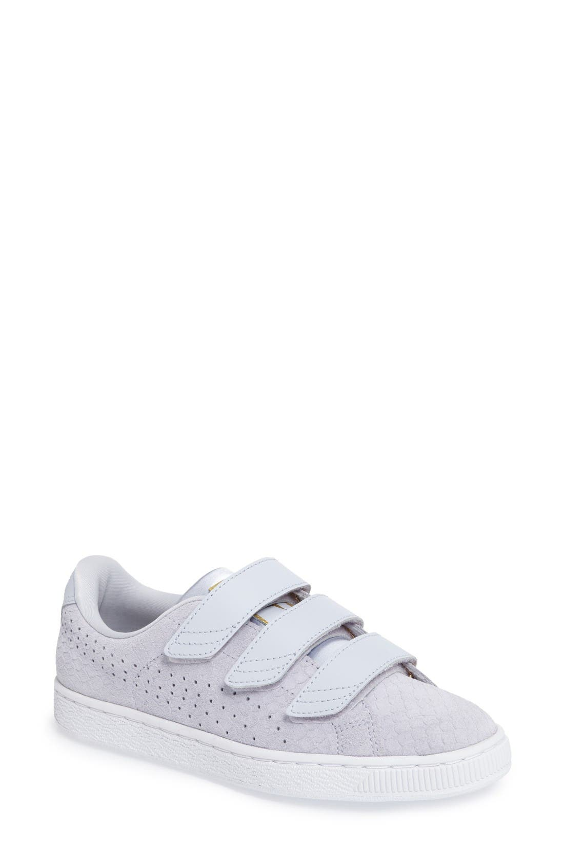PUMA Basket Strap ExoticSkin Sneaker (Women)
