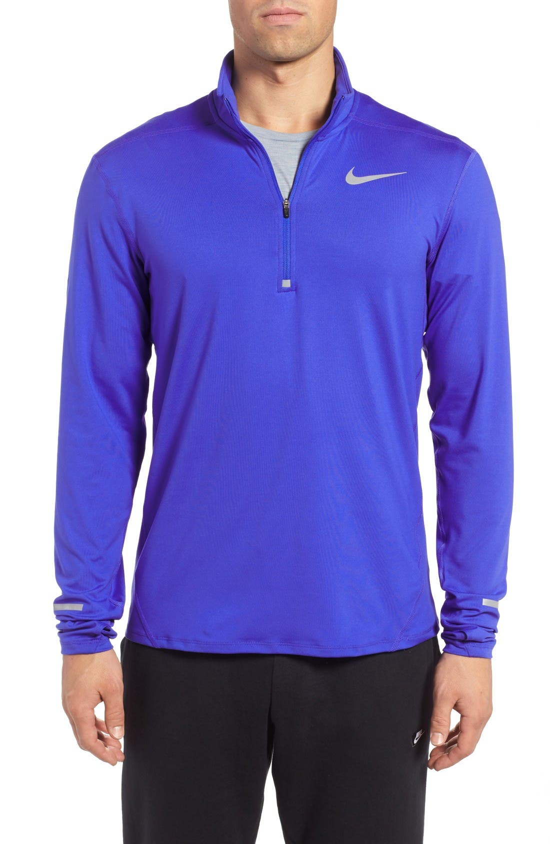 Nike 'Element' Dri-FIT Quarter Zip Running Top