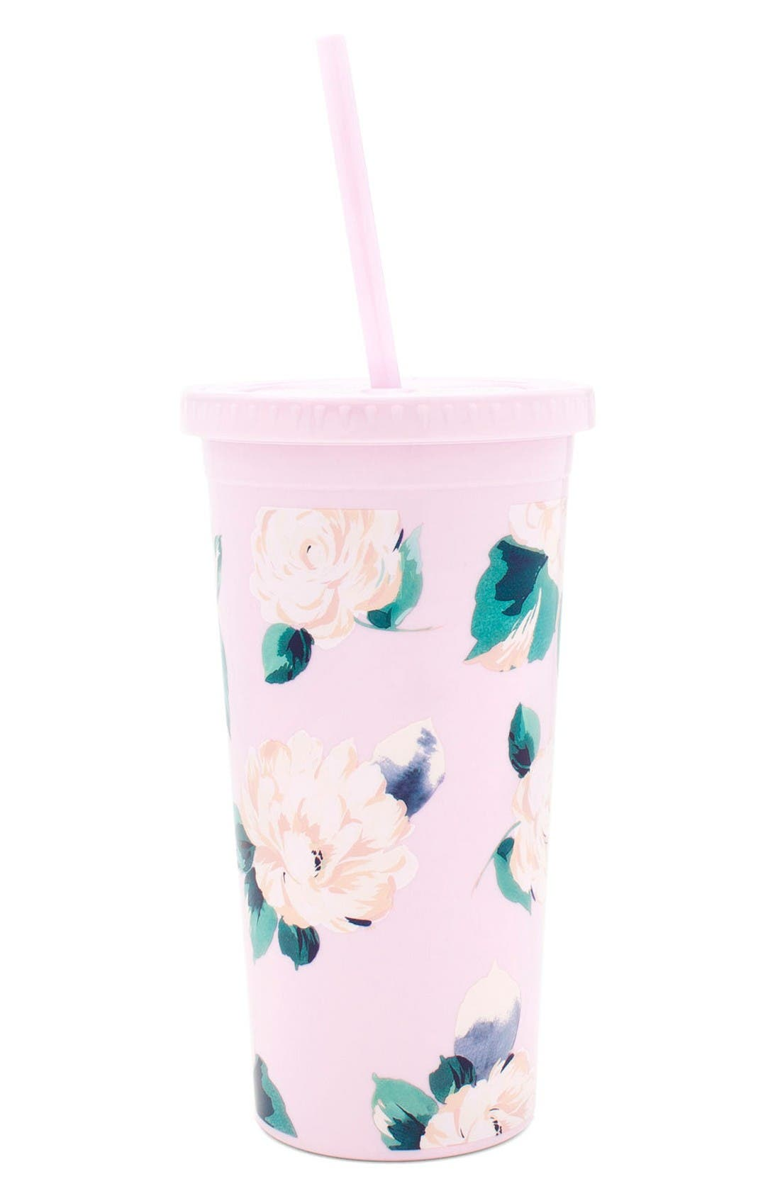 Main Image - ban.do Lady of Leisure - Sip Sip Tumbler & Straw