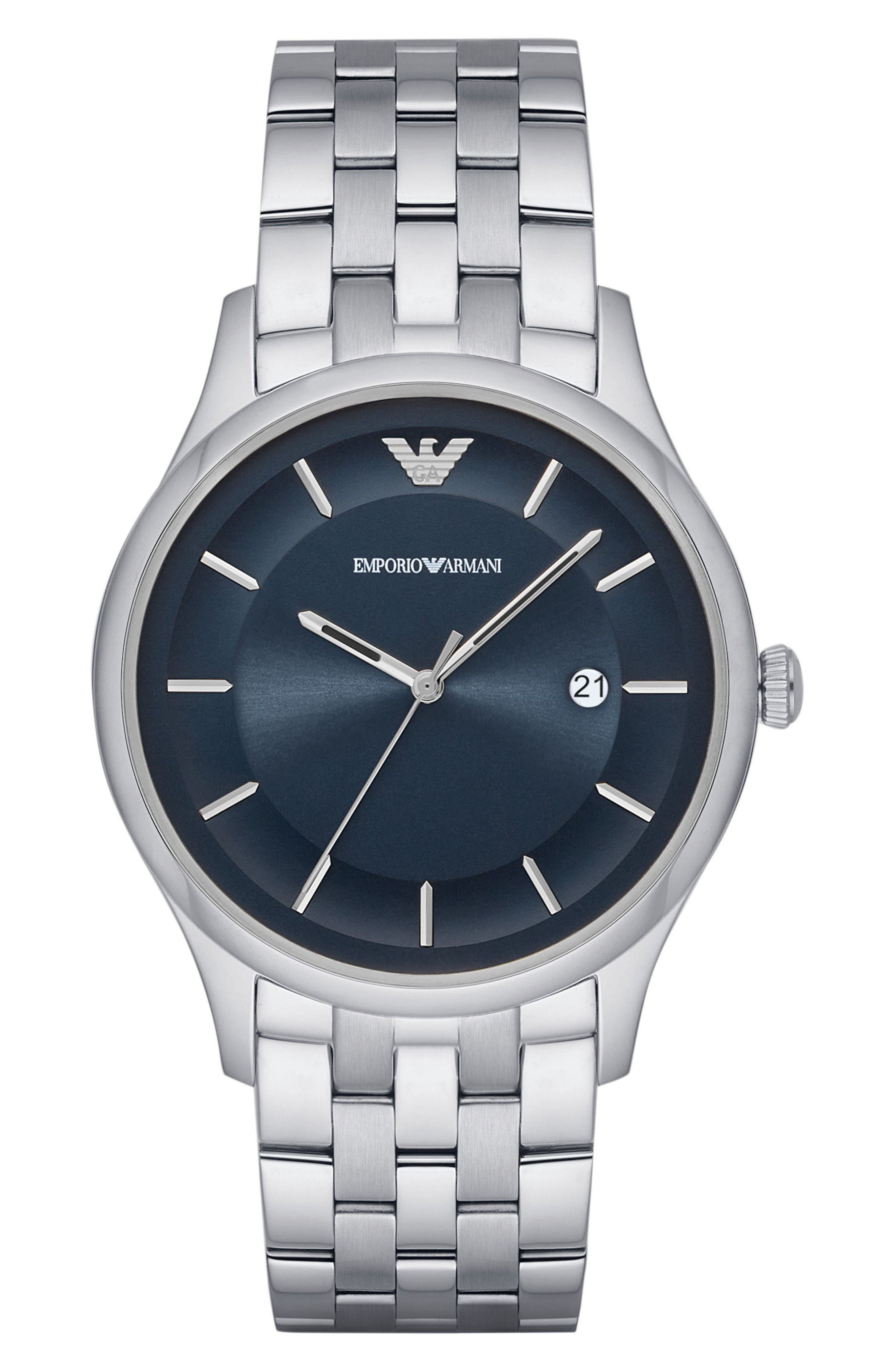 Emporio Armani Bracelet Watch, 43mm