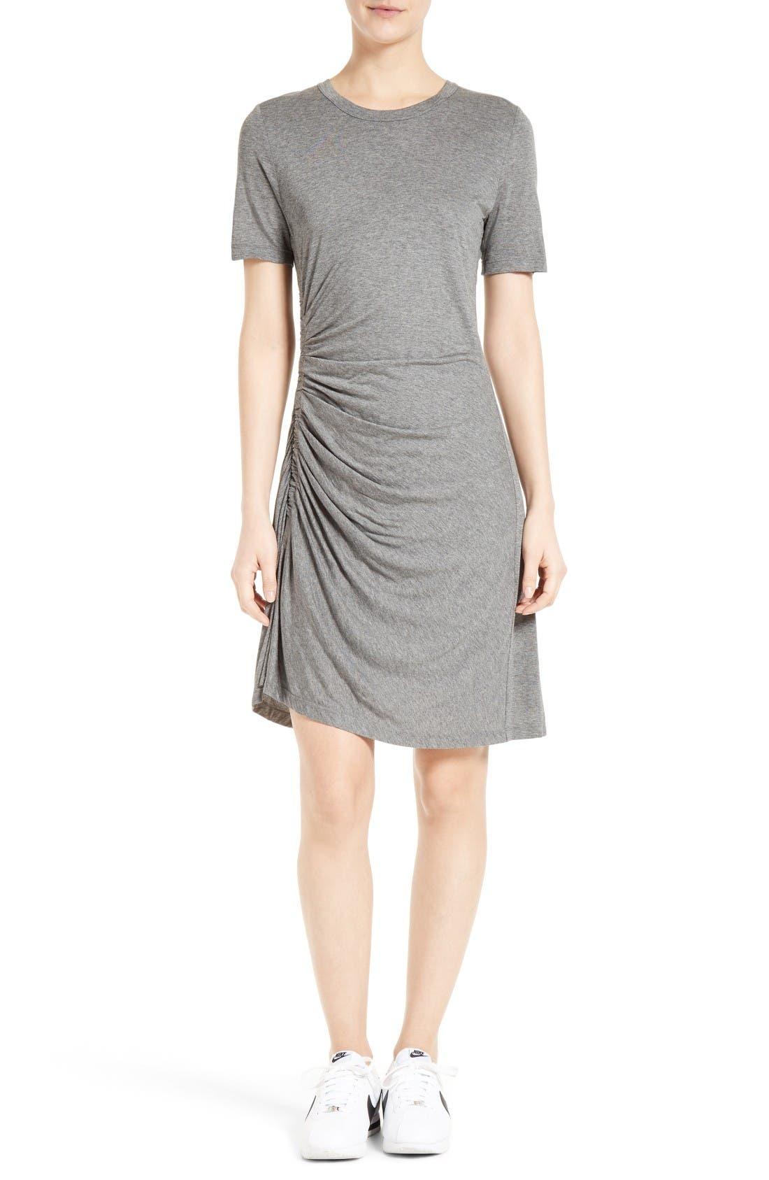A.L.C. Sally Ruched T-Shirt Dress