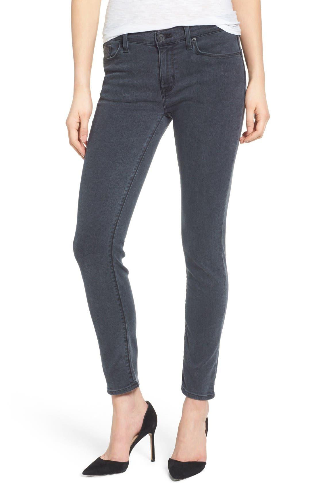 Alternate Image 1 Selected - Hudson Jeans Collette Ankle Skinny Jeans (Penumbra)