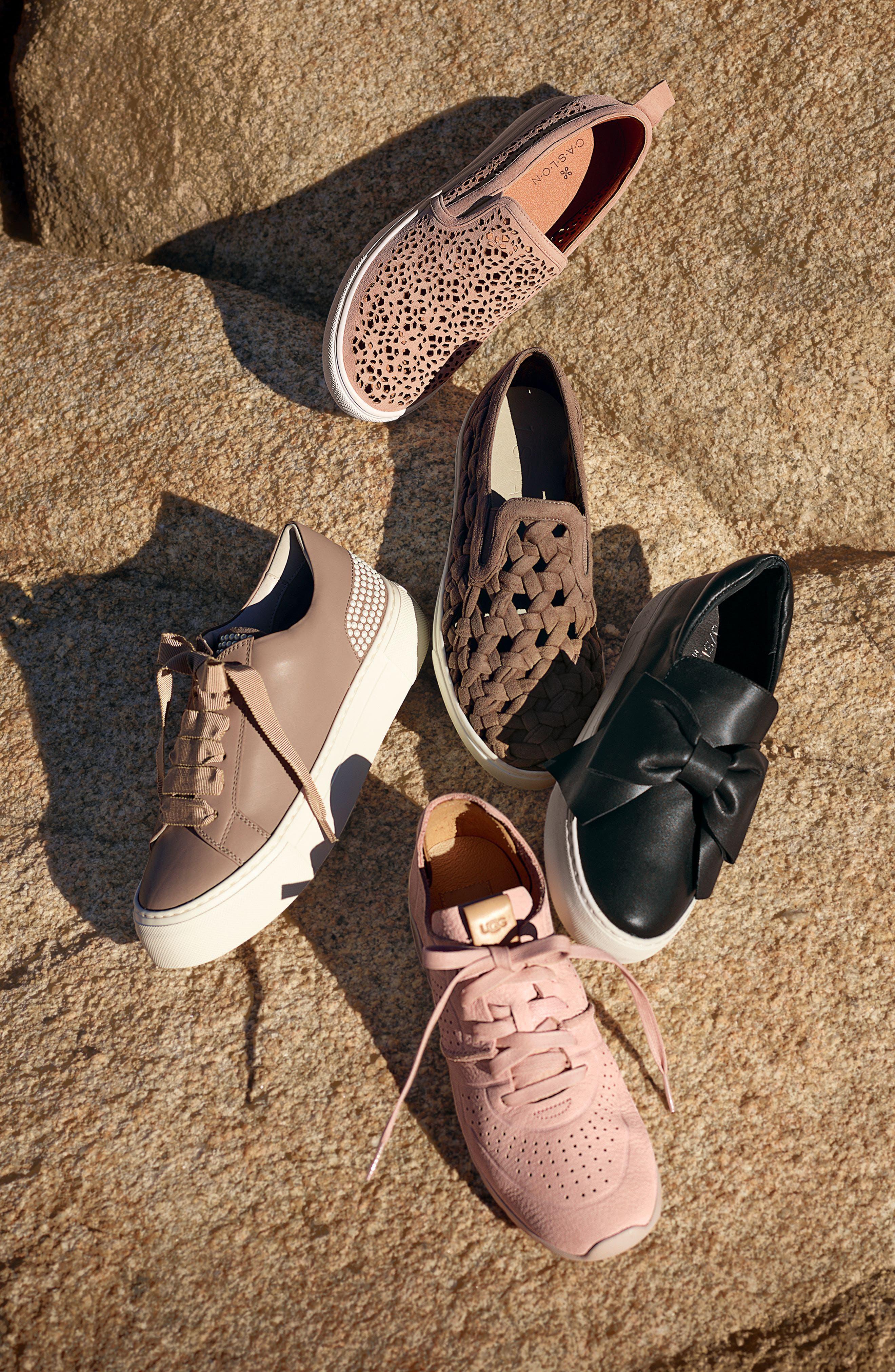 Alternate Image 5  - JSlides Beauty Bow Platform Slip-On Sneaker (Women)