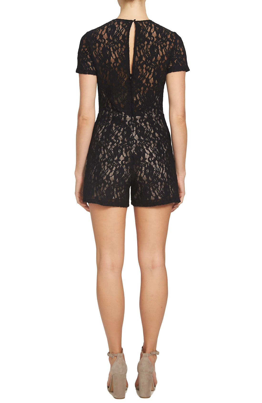 Alternate Image 2  - 1.STATE Lace Romper