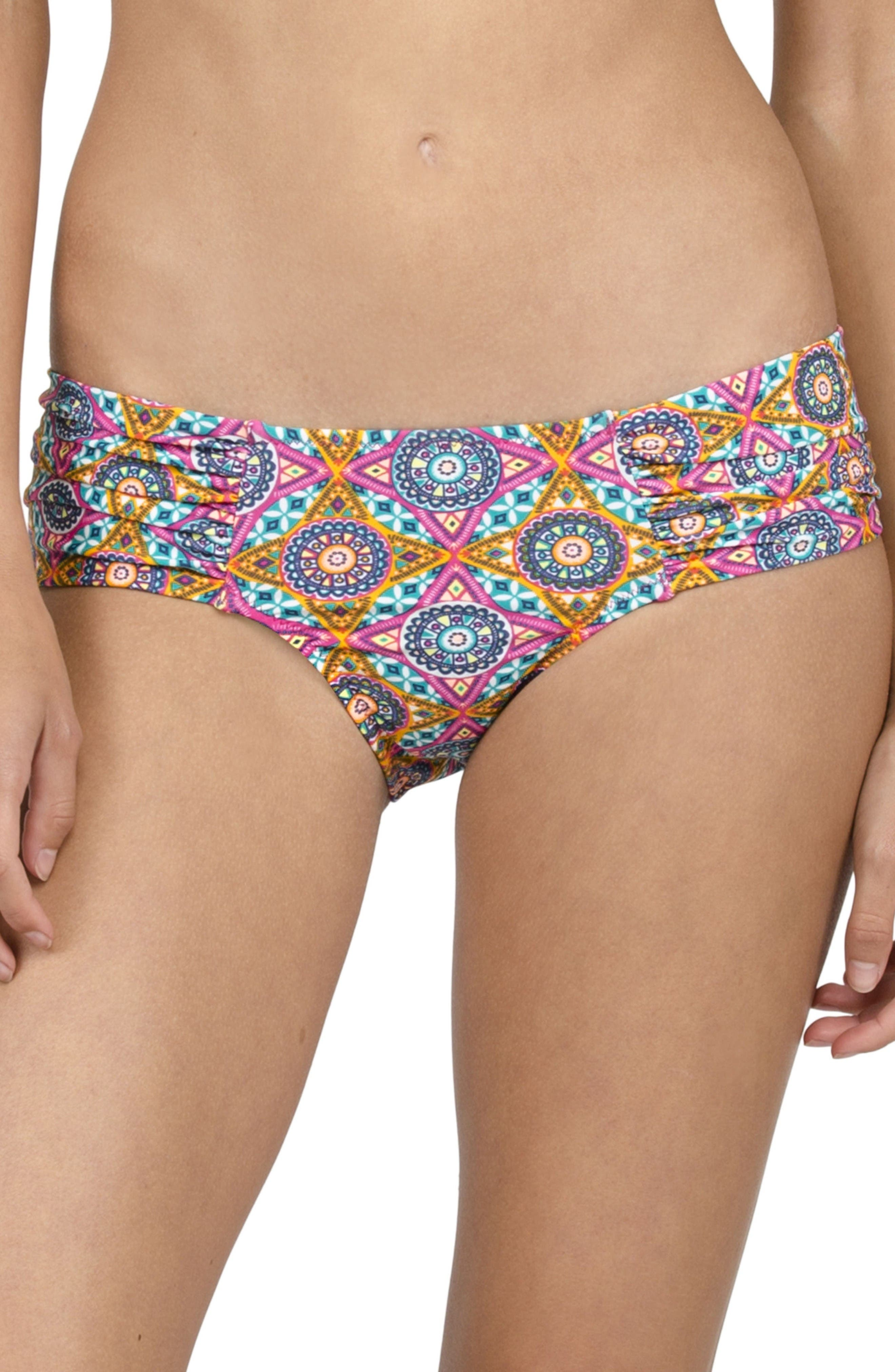 VOLCOM Current State Cheeky Bikini Bottoms