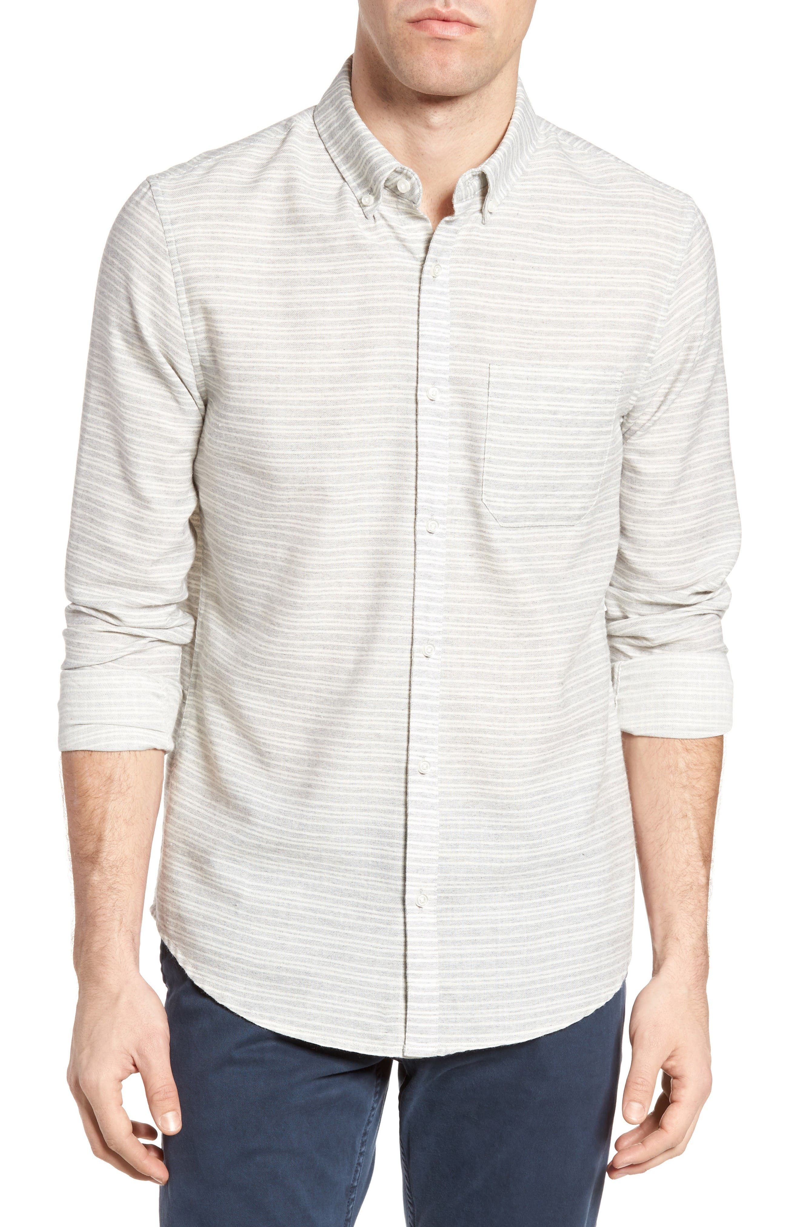 FRONT STREET James Slim Fit Stripe Sport Shirt