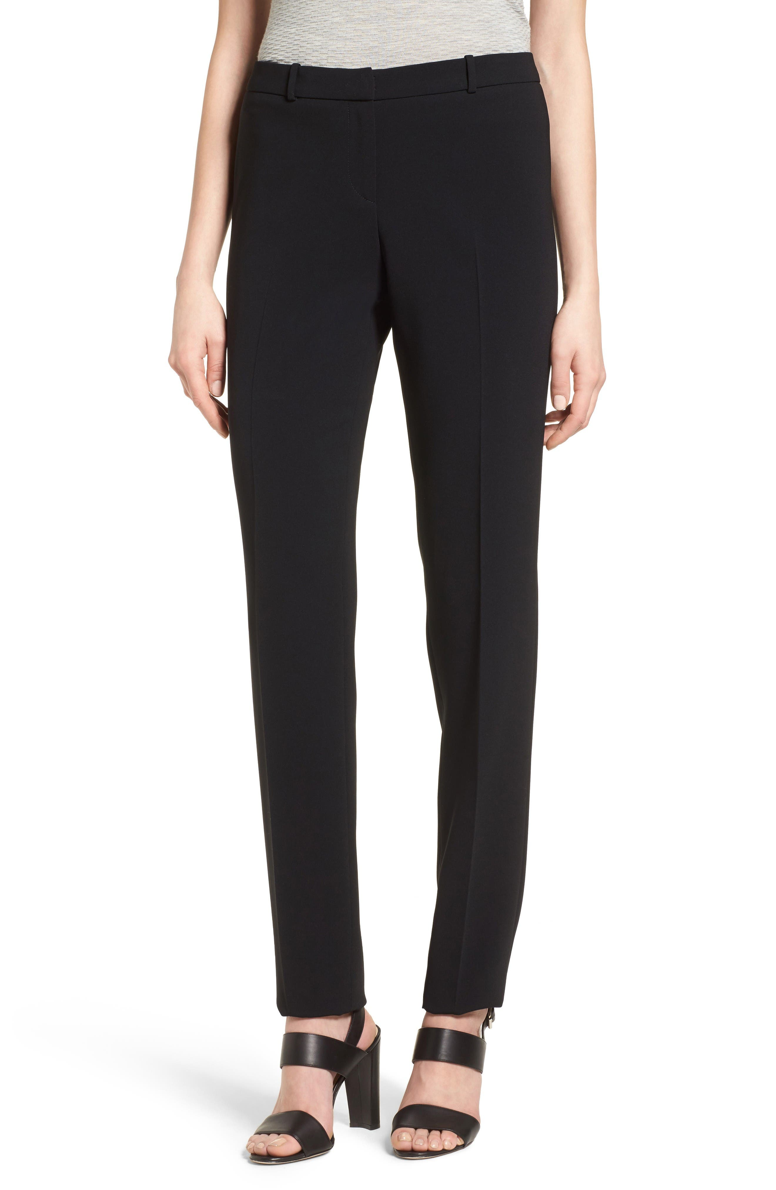 BOSS Tilunana Straight Leg Trousers