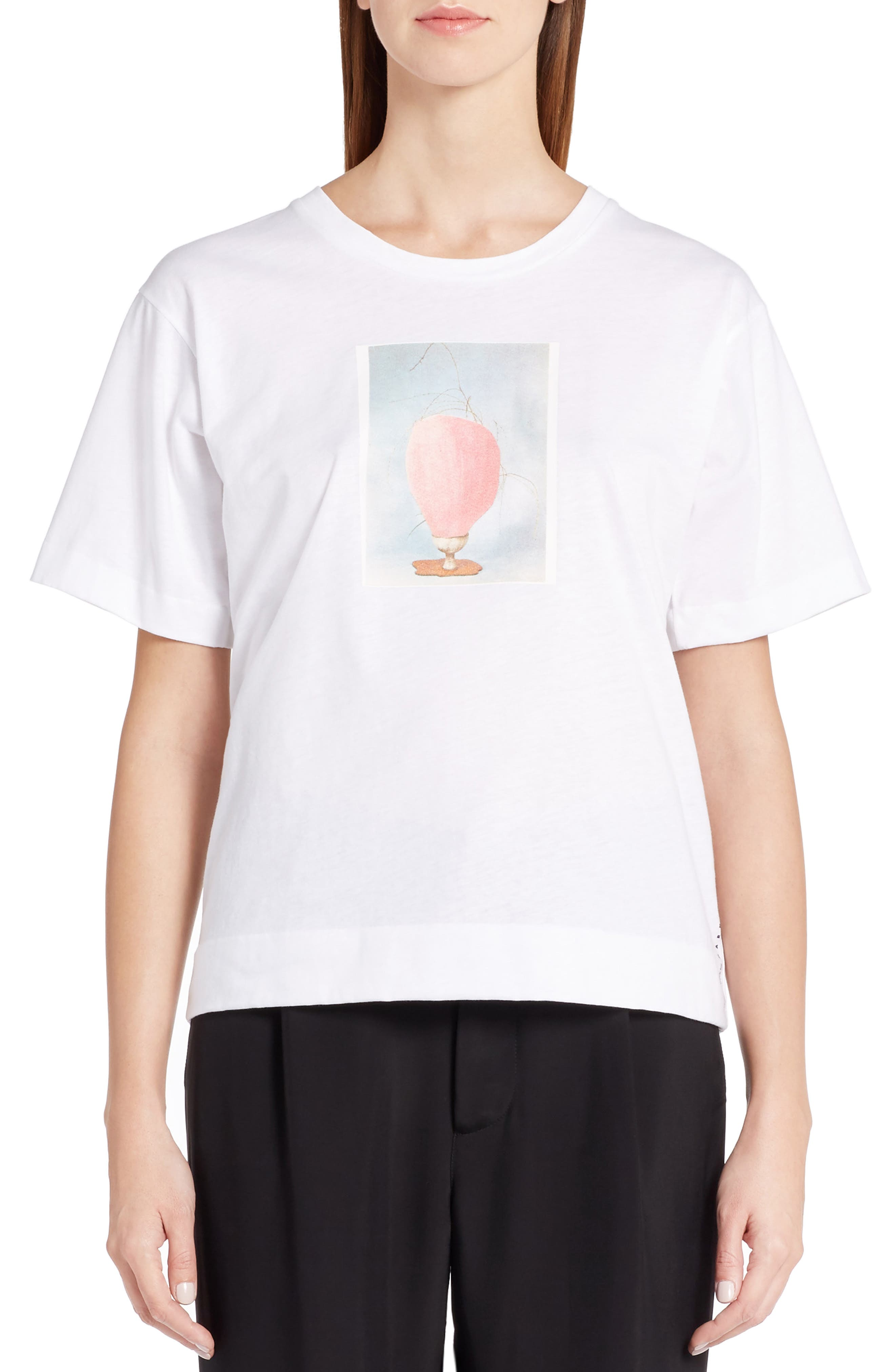 Alternate Image 1 Selected - Marni Ruth Print Jersey Tee