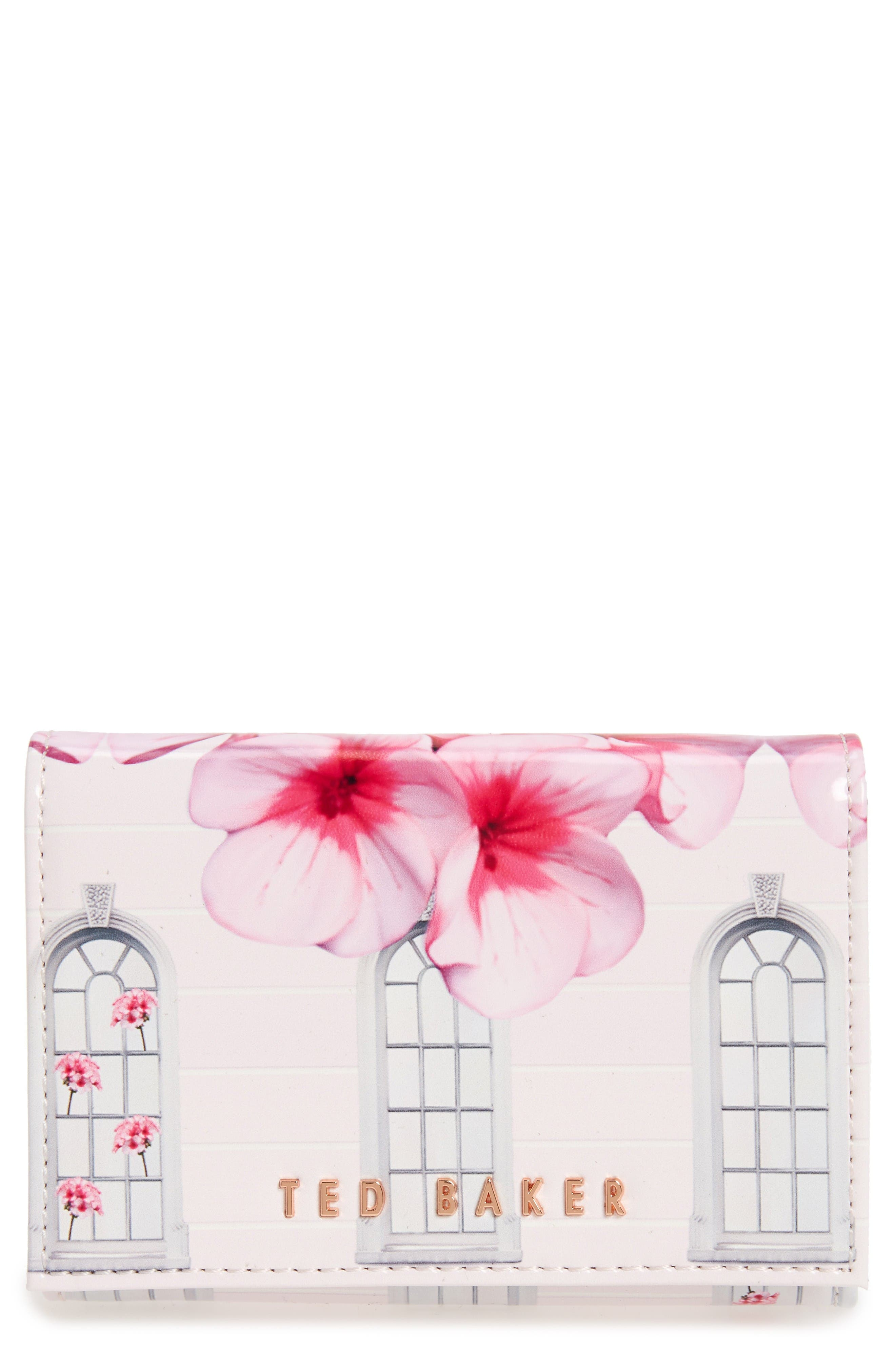 Main Image - Ted Baker London Window Box Floral Clutch