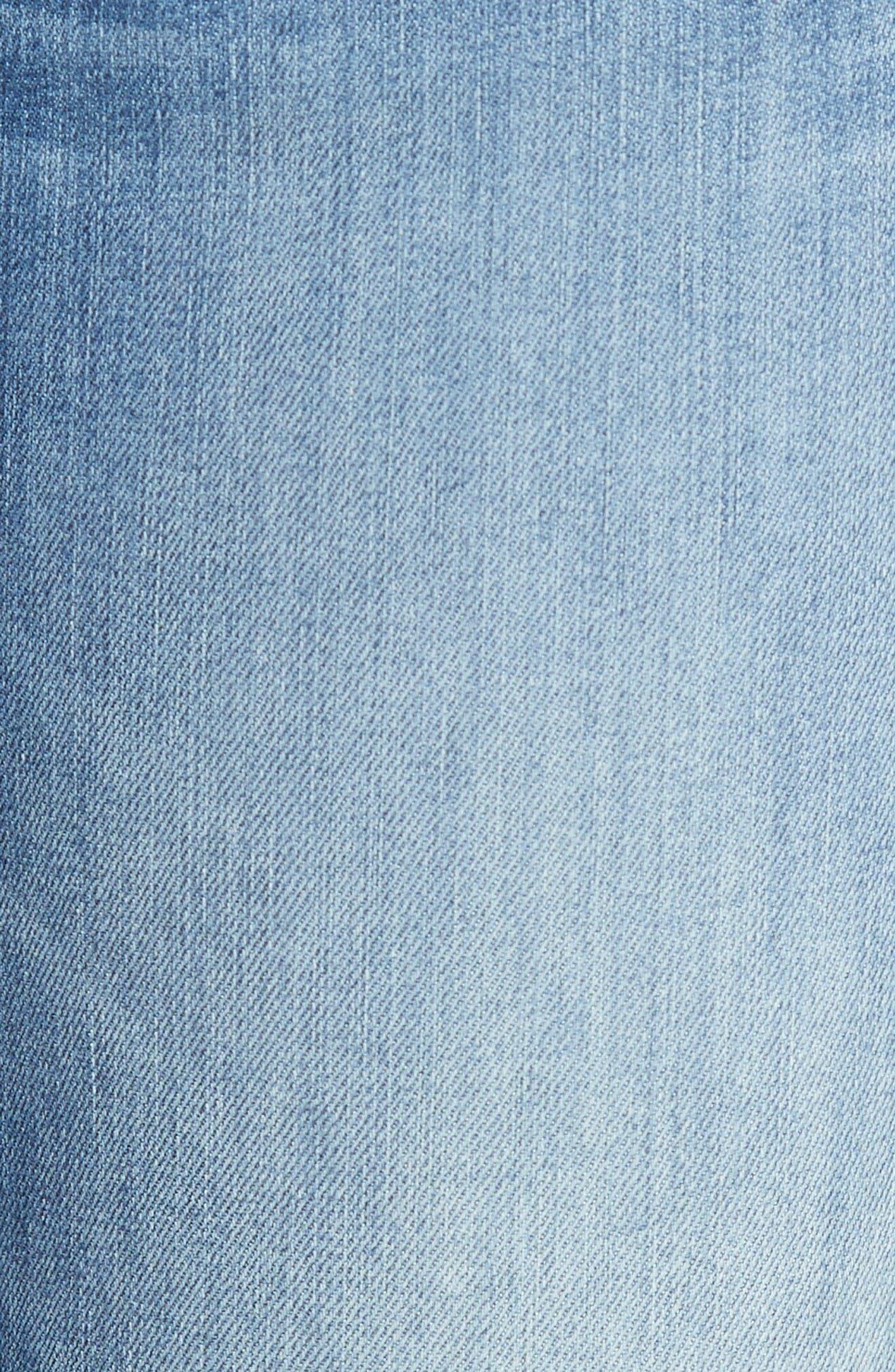 Alternate Image 5  - rag & bone/JEAN Capri Skinny Jeans (Clean Lilly Dale)