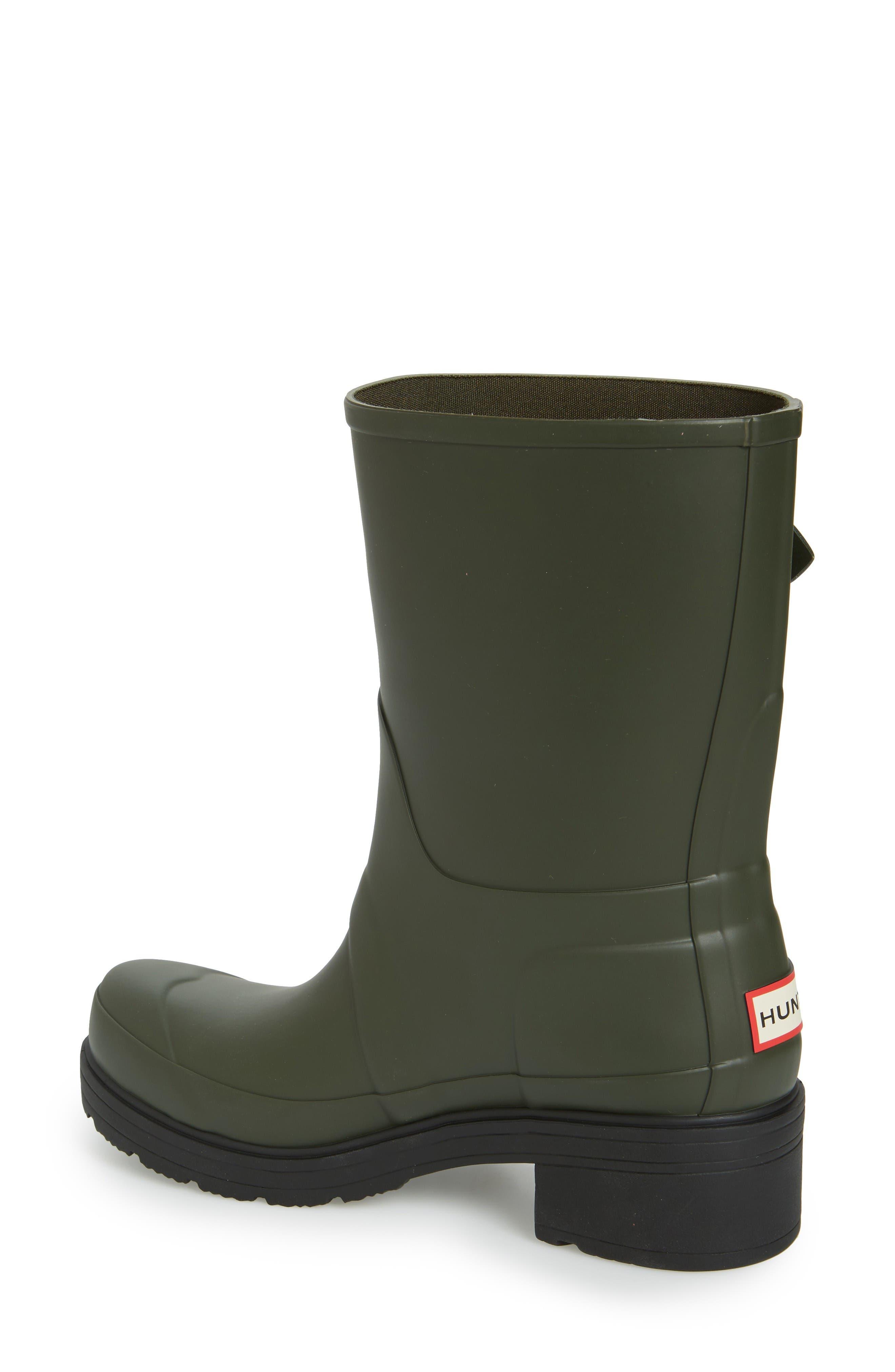 Alternate Image 2  - Hunter 'Original' Waterproof Ankle Rain Boot (Women)