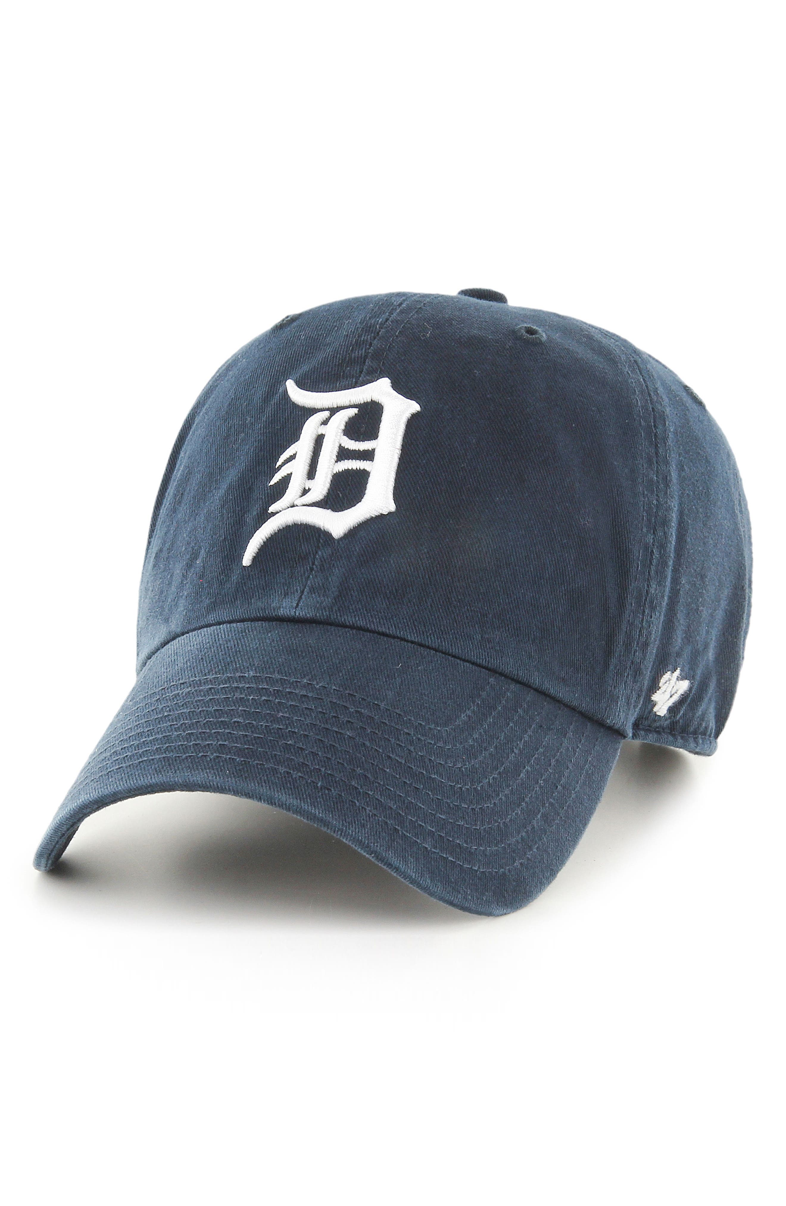 '47 Clean Up Detroit Tigers Baseball Cap