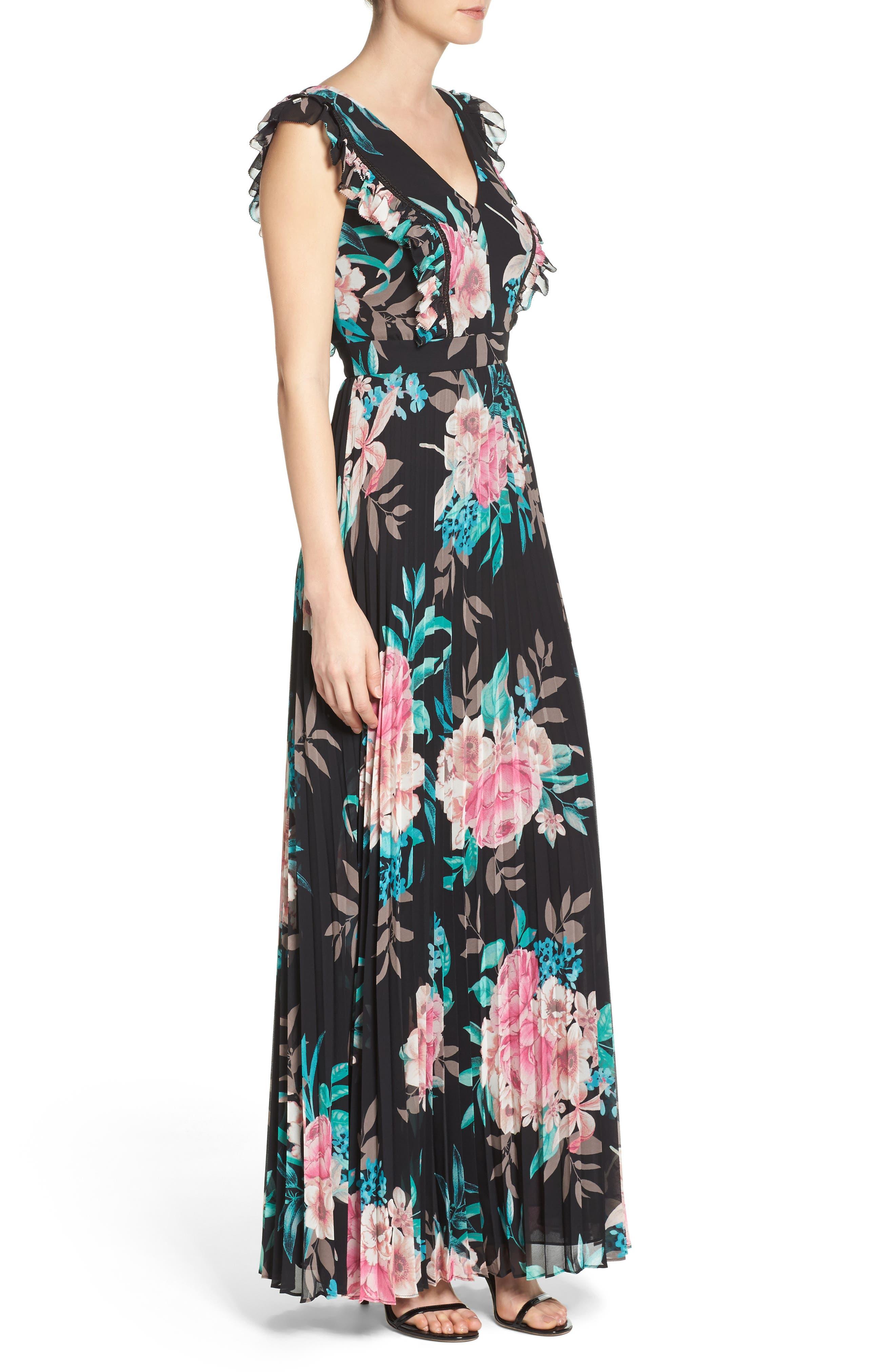 Alternate Image 3  - Eliza J Ruffle Maxi Dress