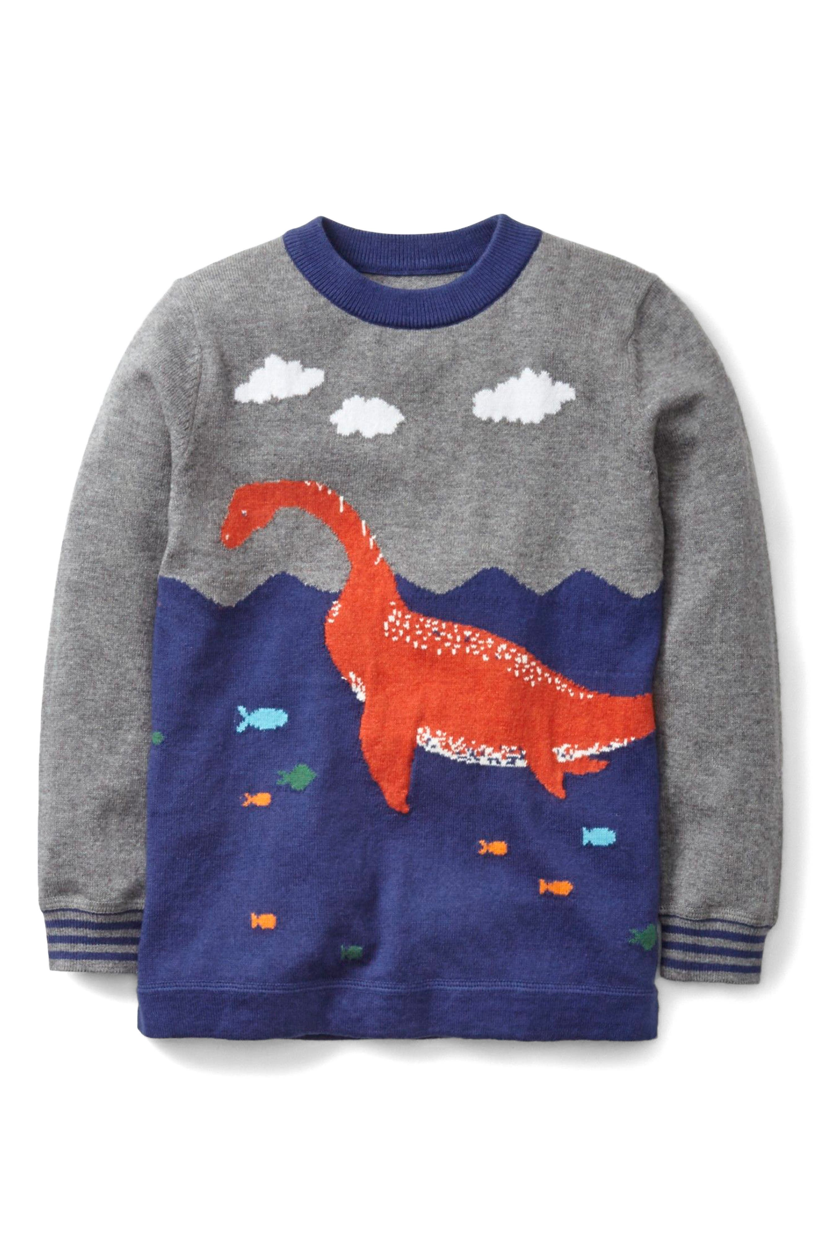 MINI BODEN Intarsia Knit Sweater