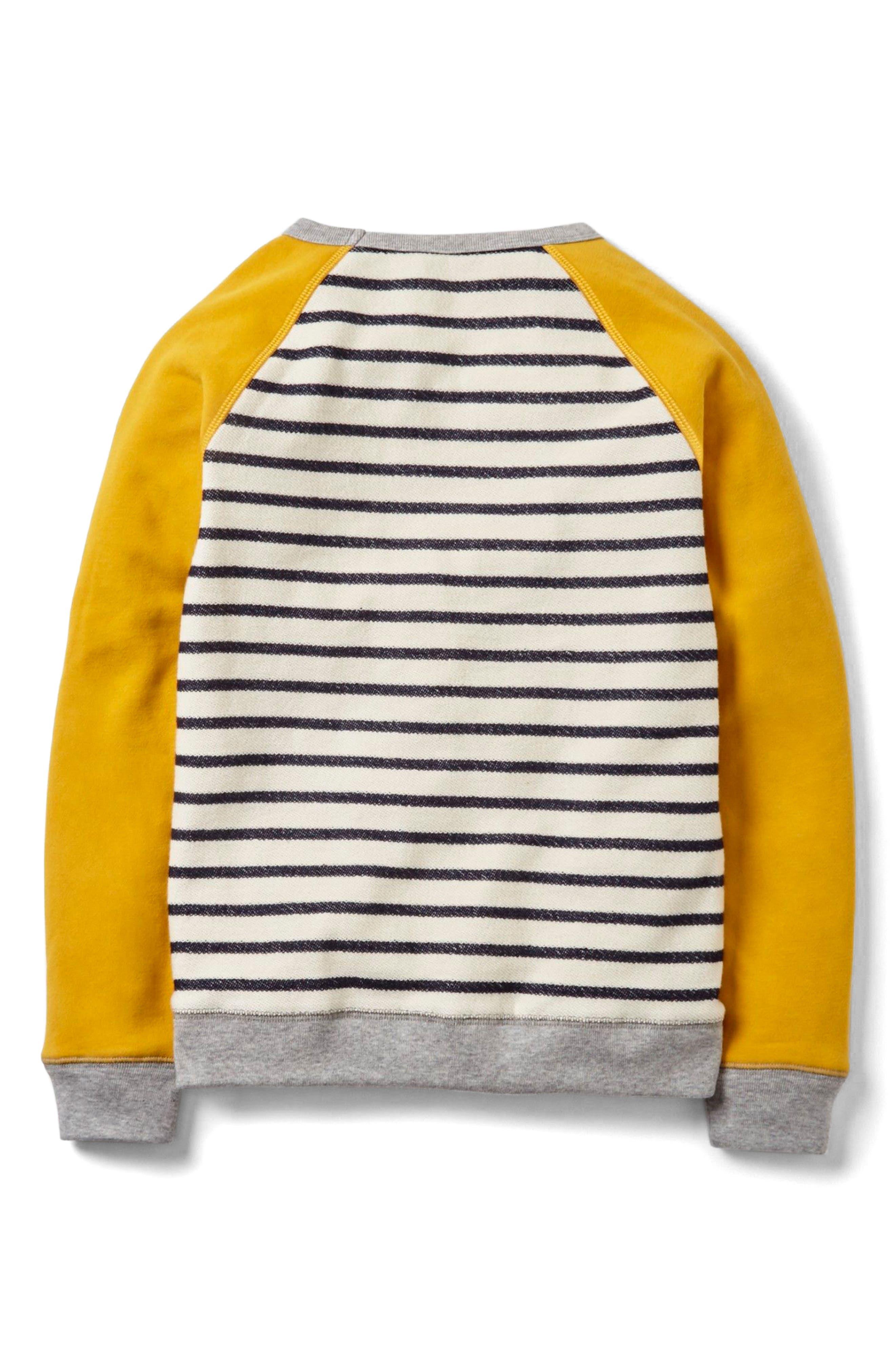 Alternate Image 2  - Mini Boden Essential Sweatshirt (Toddler Boys, Little Boys & Big Boys)
