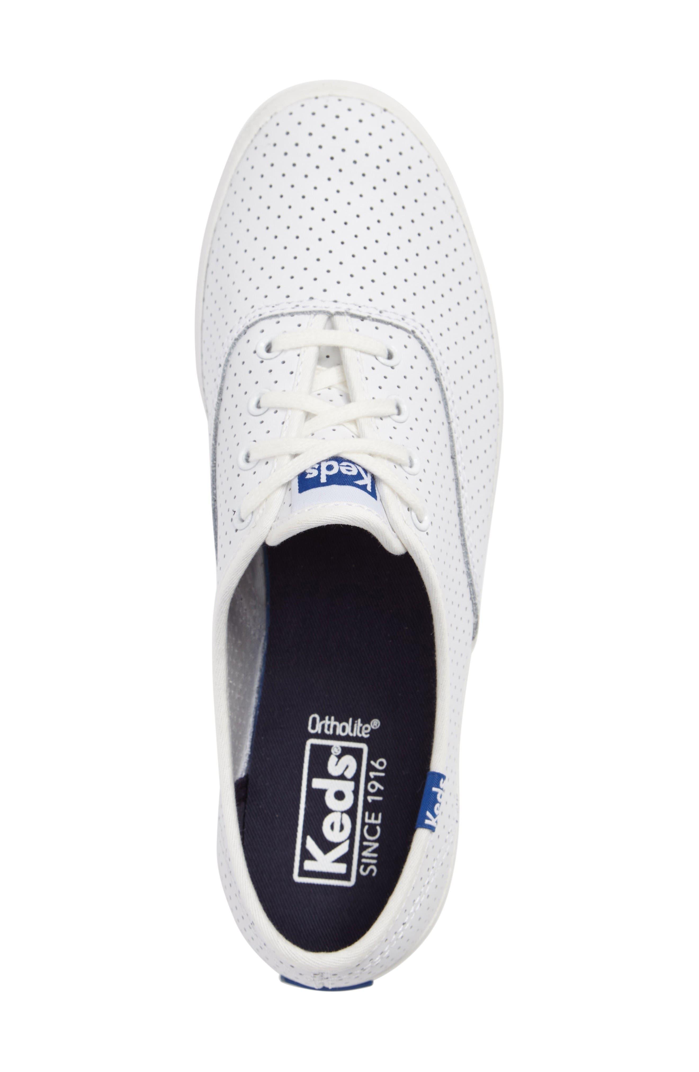 Alternate Image 3  - Keds® Champion Perforated Sneaker (Women)