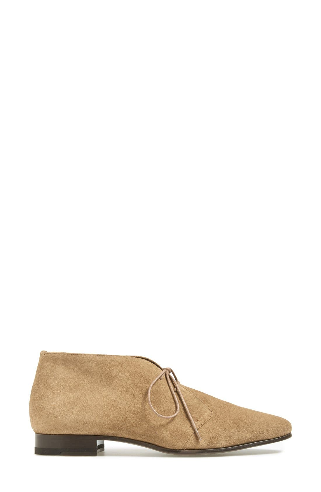 Alternate Image 4  - Saint Laurent 'Lulu' Suede Bootie (Women)