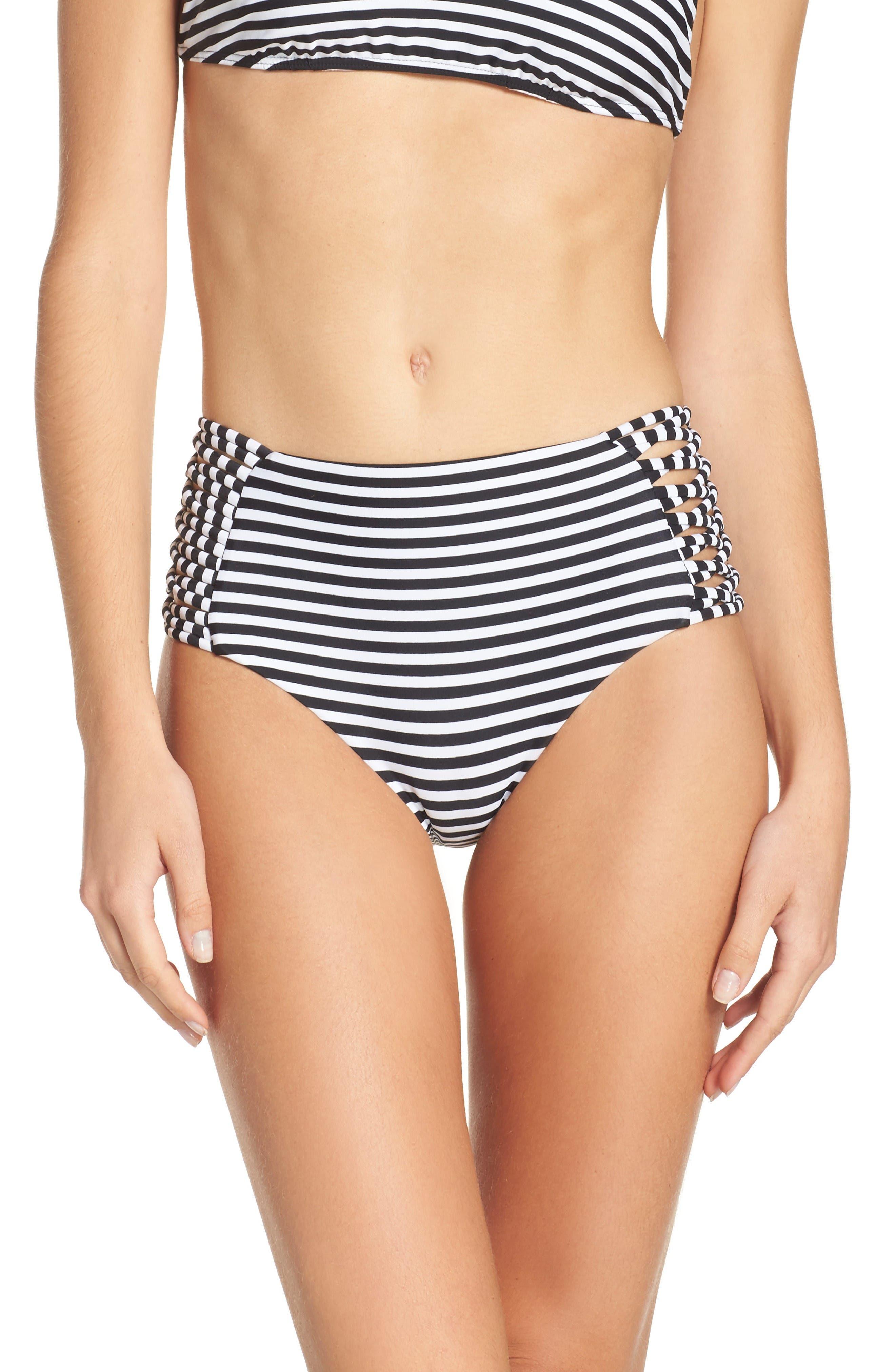 Alternate Image 1 Selected - Byrds of Paradise Morrissey High Waist Bikini Bottoms