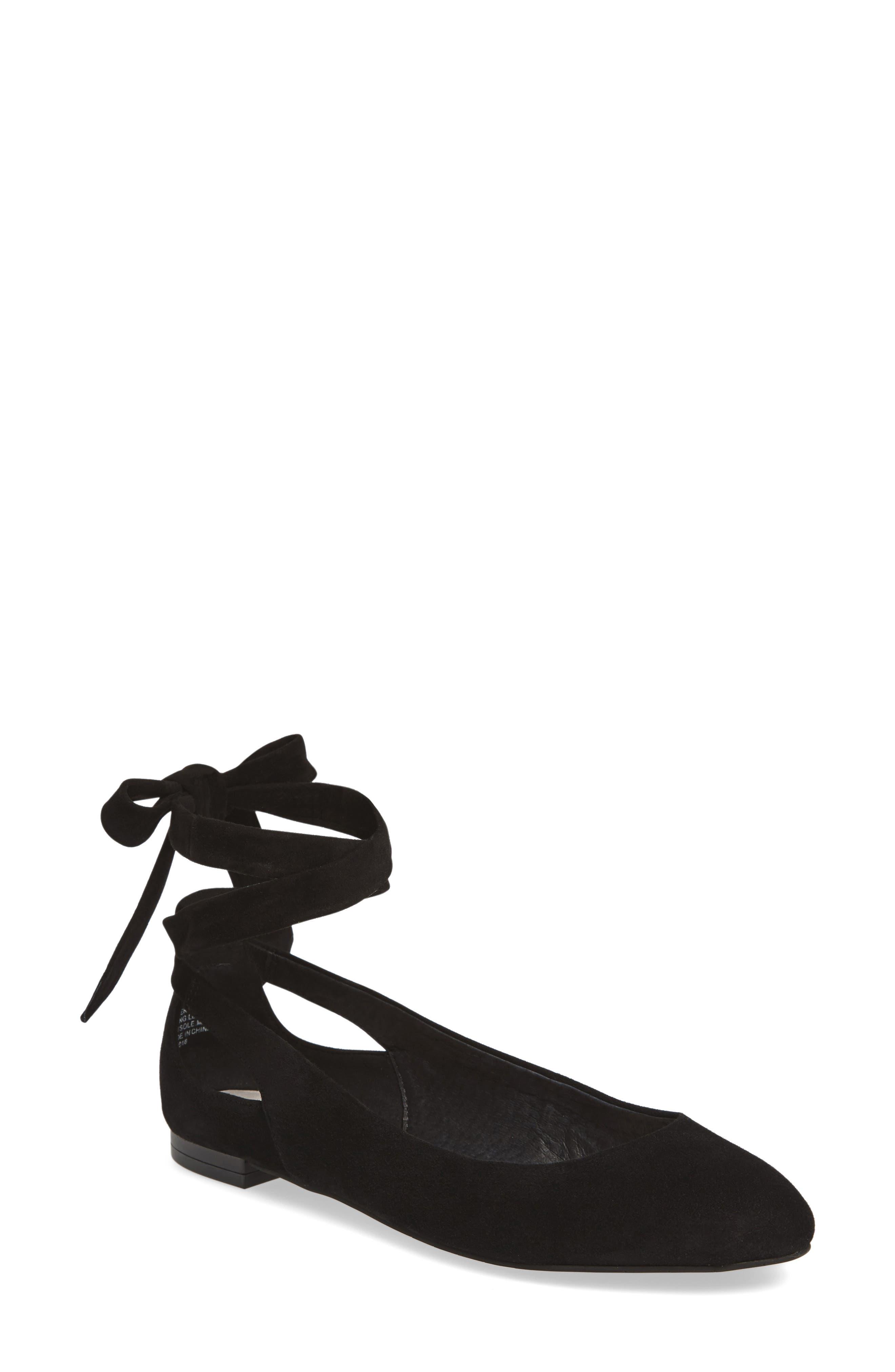 Kenneth Cole New York Wilhelmina Wraparound Flat (Women)