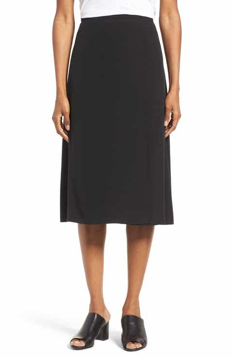 black silk skirt | Nordstrom