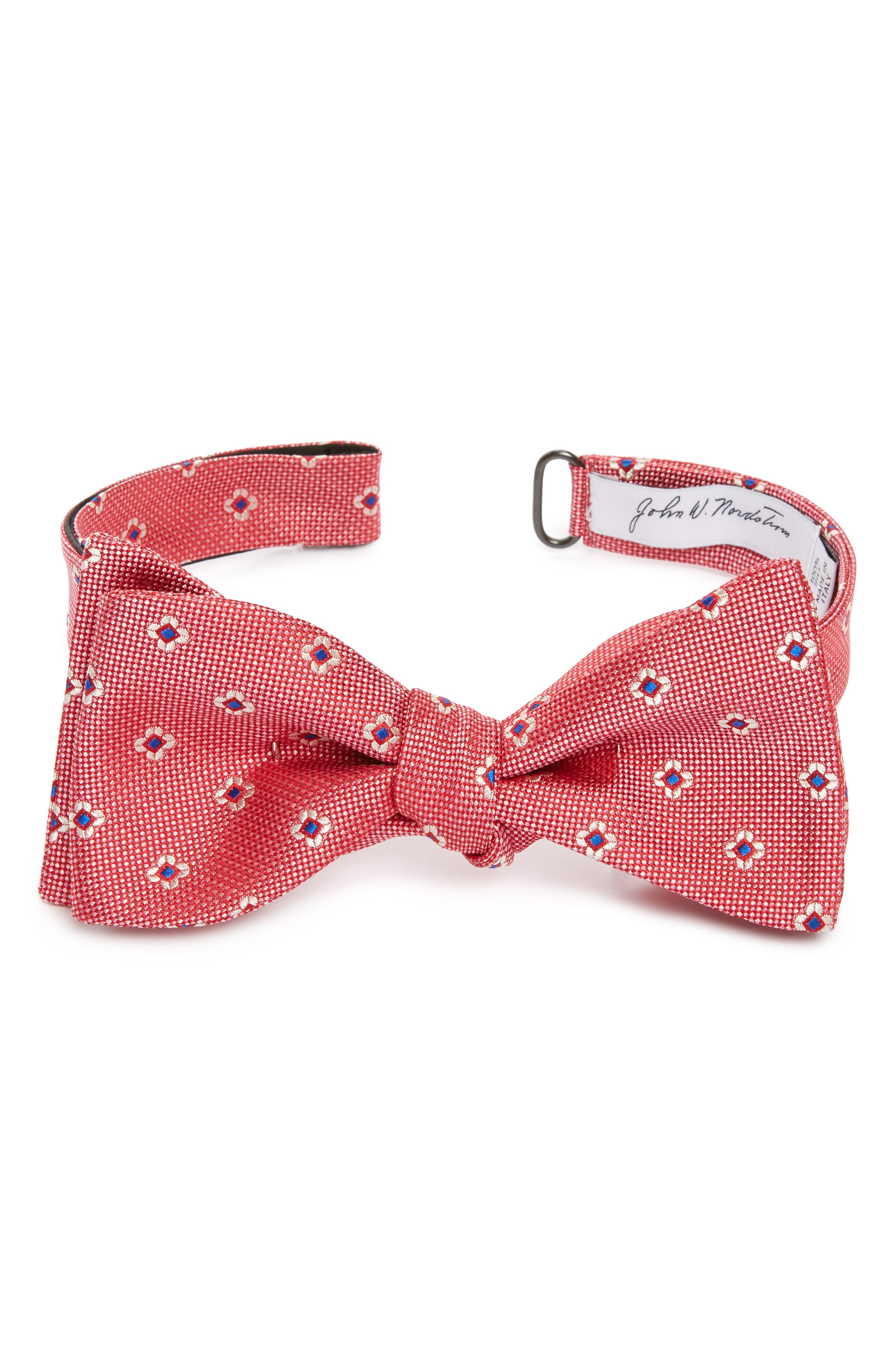 John W. Nordstrom® Floral Silk Bow Tie