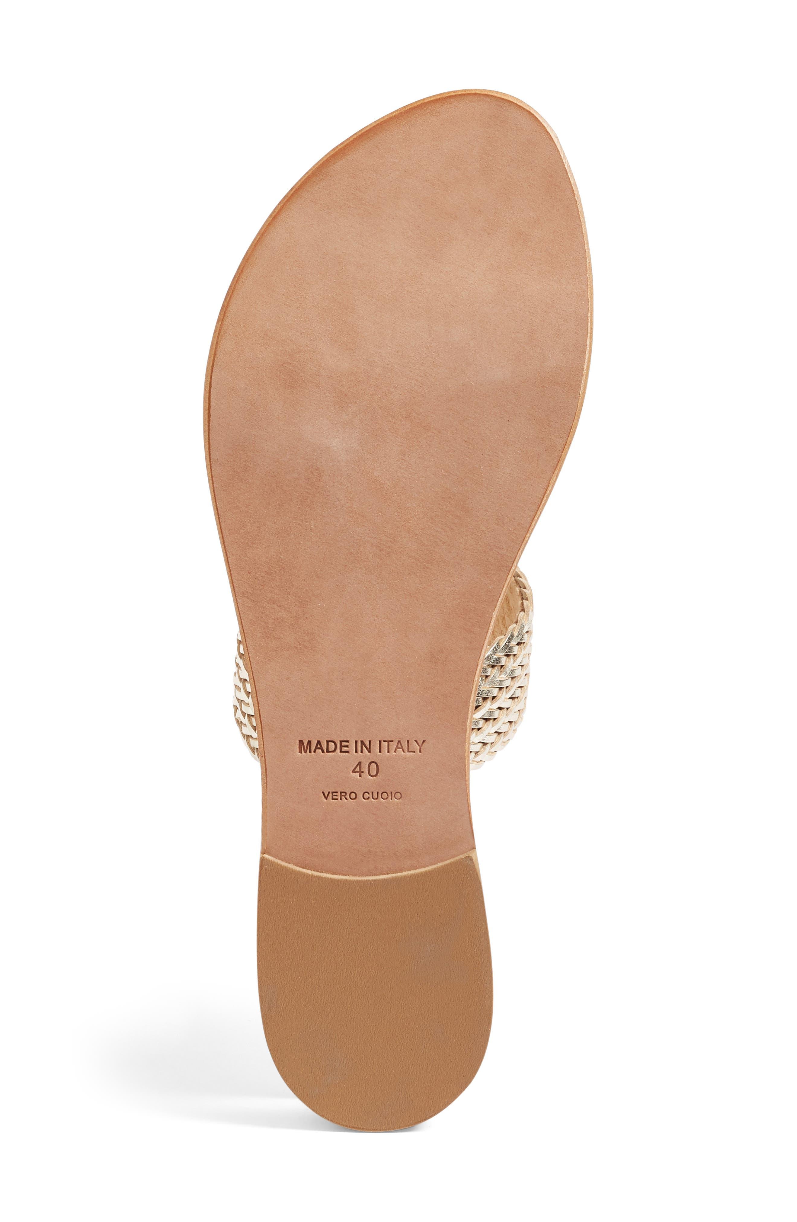 Alternate Image 4  - Joie a la Plage 'Sable' Leather Slip-On Sandal (Women)