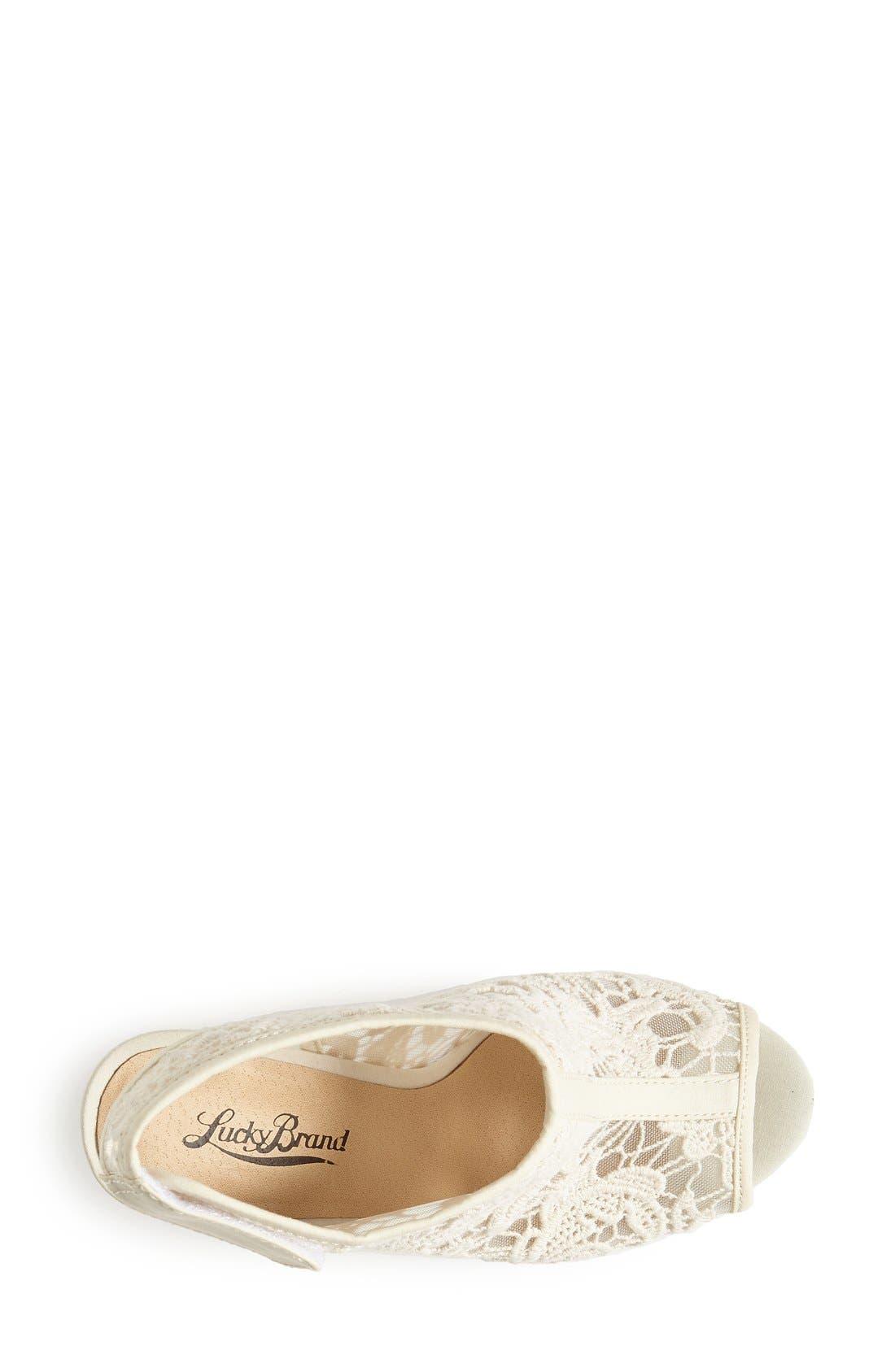Alternate Image 3  - Lucky Brand 'Rezdah' Wedge Platform Sandal (Women)