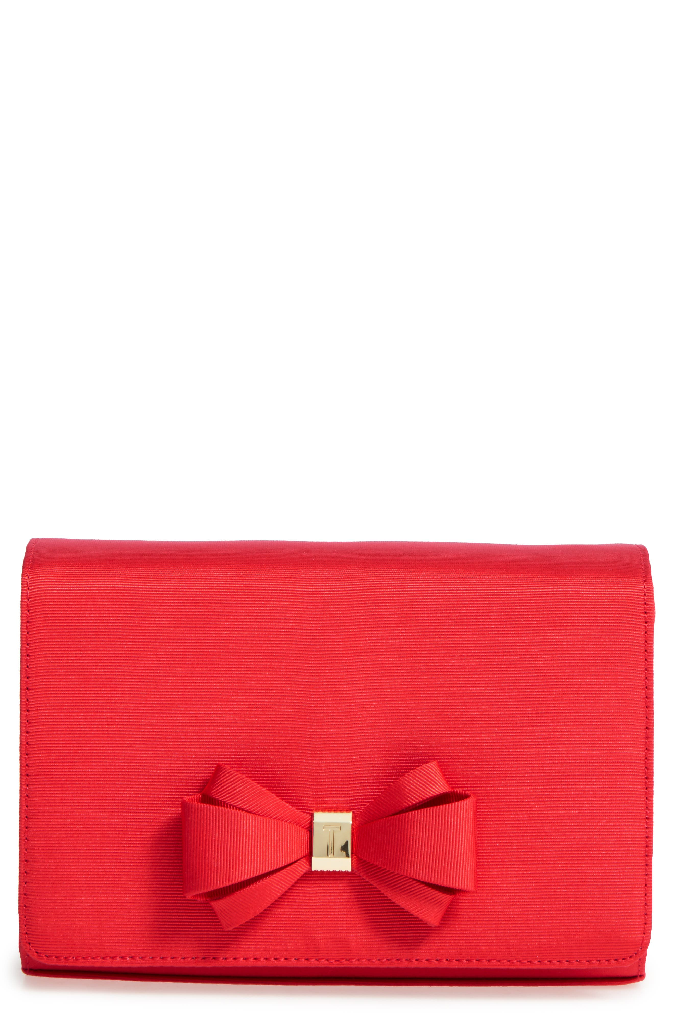 Main Image - Ted Baker London Grosgrain Clutch