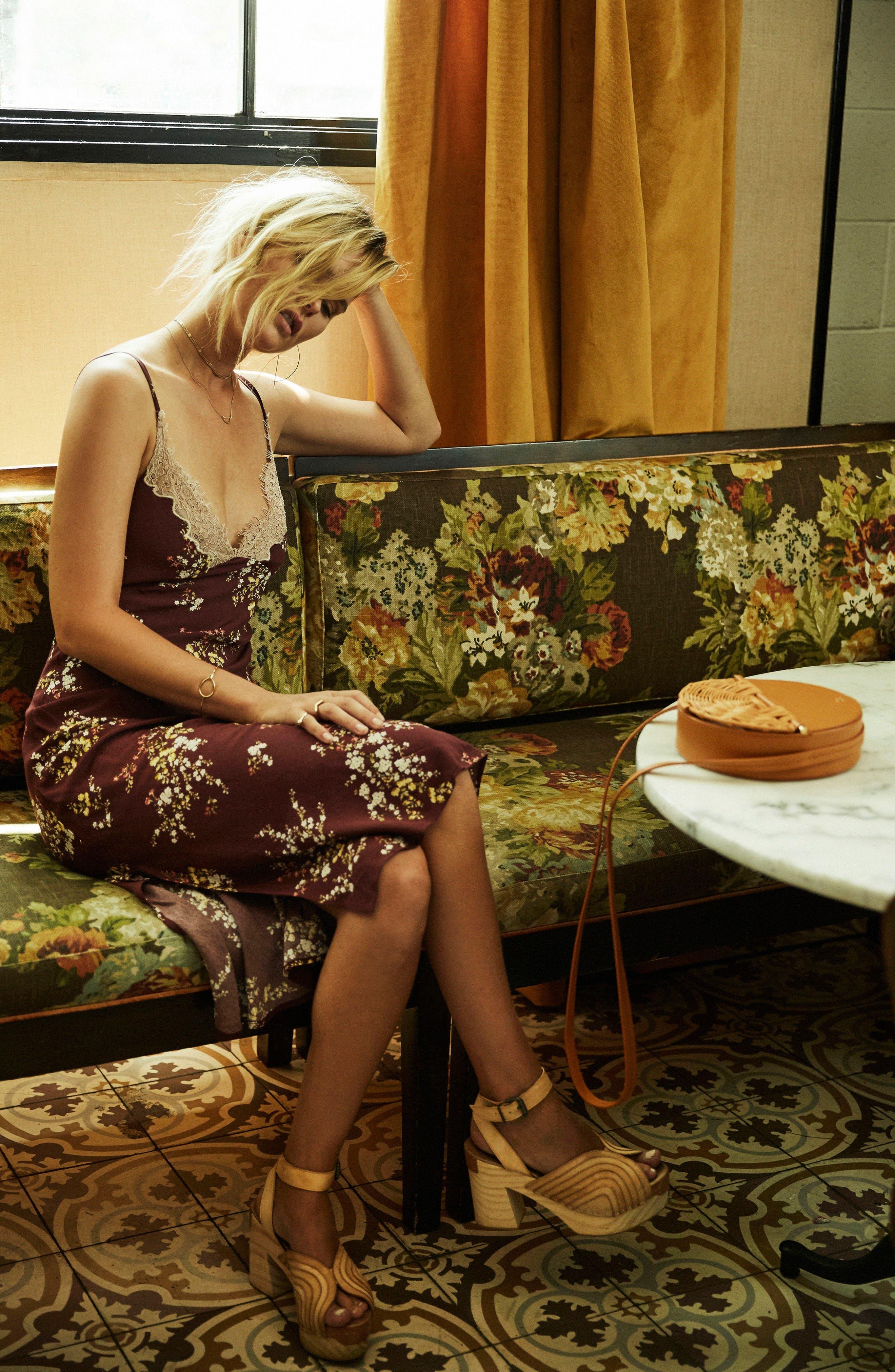 Alternate Image 7  - ASTR the Label Iris Midi Dress